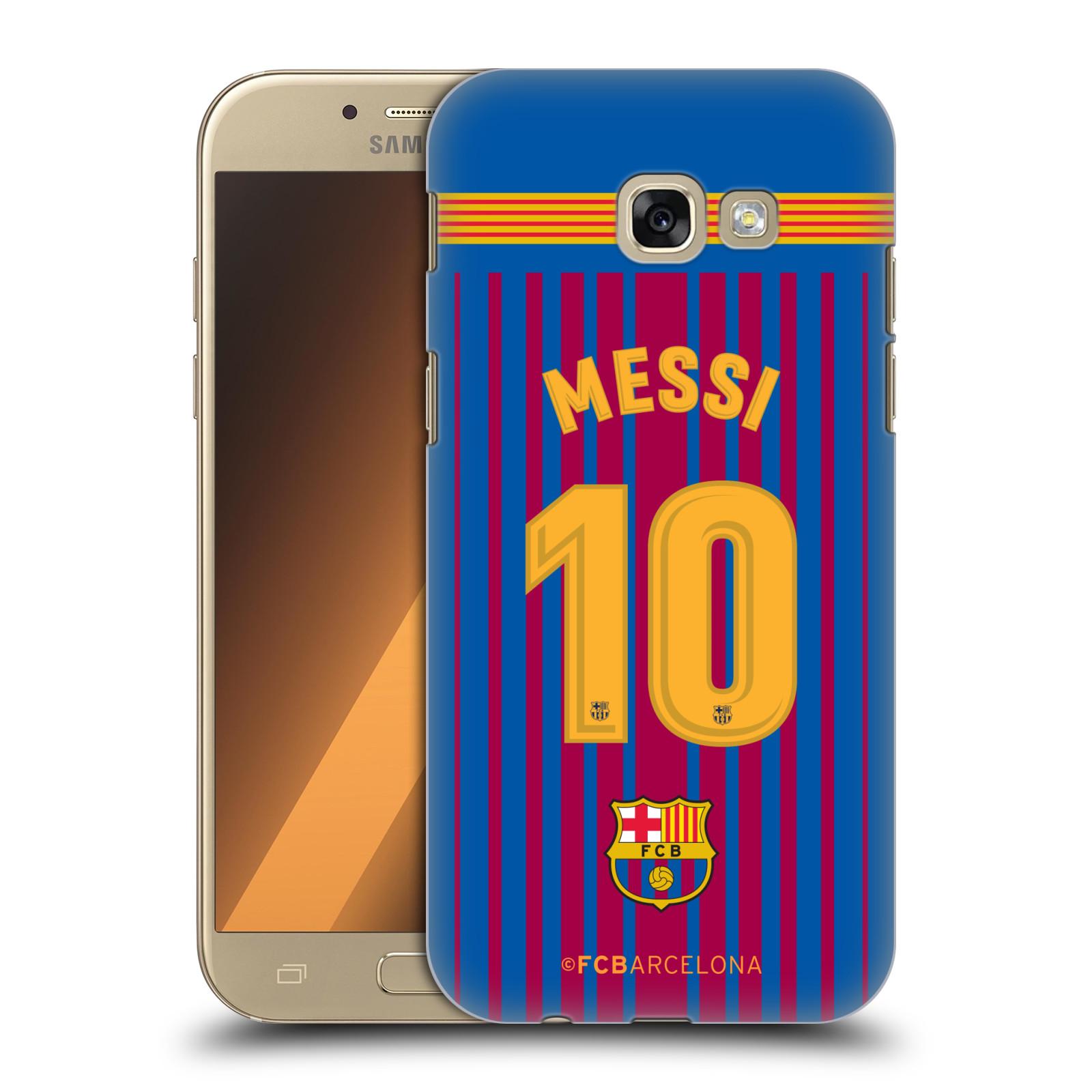 Plastové pouzdro na mobil Samsung Galaxy A5 (2017) - Head Case - FC Barcelona - Dres Messi