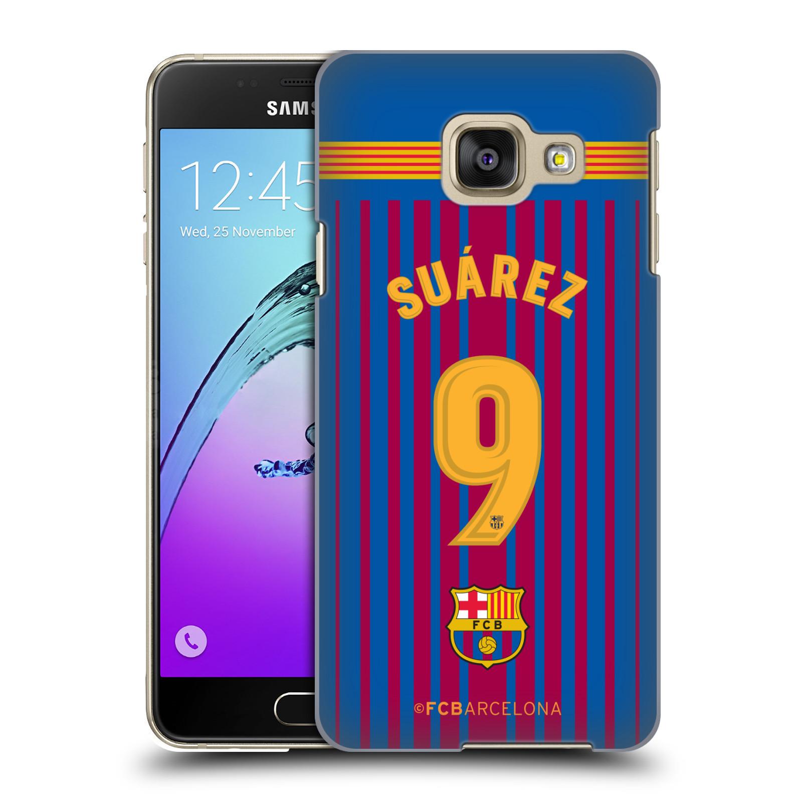 Plastové pouzdro na mobil Samsung Galaxy A3 (2016) - Head Case - FC Barcelona - Dres Suárez