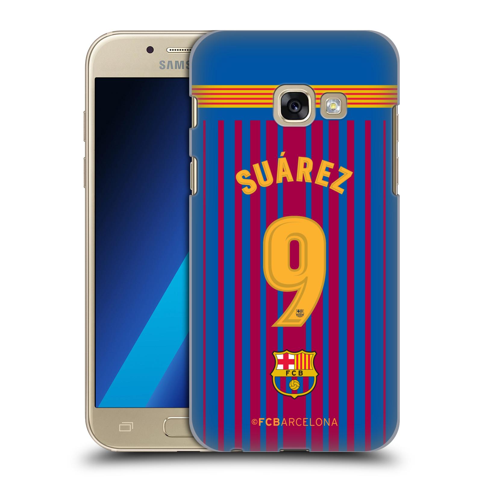 Plastové pouzdro na mobil Samsung Galaxy A3 (2017) - Head Case - FC Barcelona - Dres Suárez