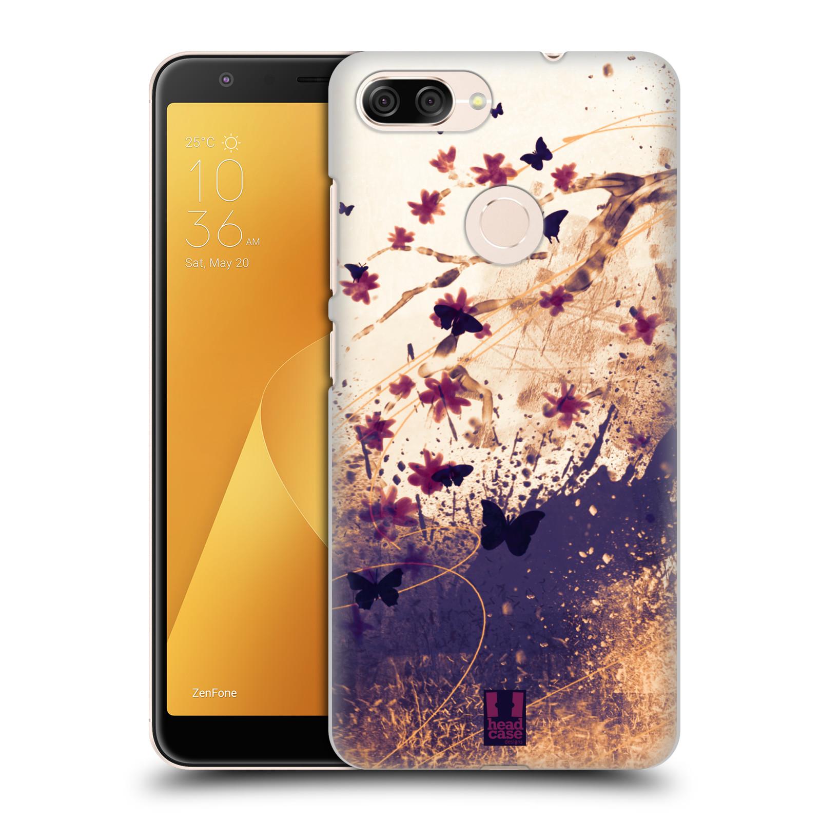 Plastové pouzdro na mobil Asus ZenFone Max Plus (M1) - Head Case - MOTÝLCI (Plastový kryt či obal na mobilní telefon Asus ZenFone Max Plus M1 ZB570TL s motivem MOTÝLCI)
