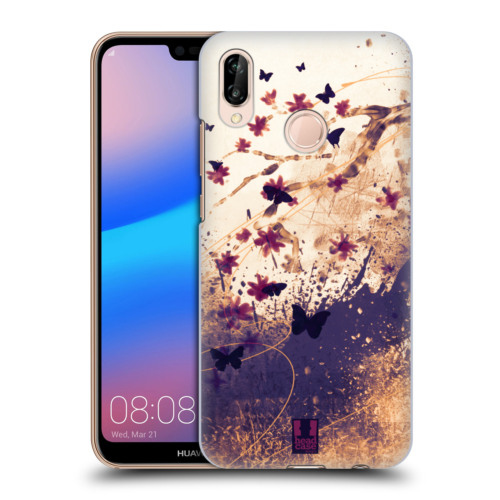 Plastové pouzdro na mobil Huawei P20 Lite - Head Case - MOTÝLCI