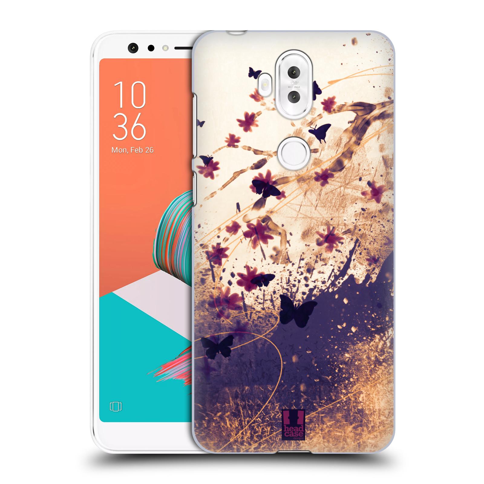 Plastové pouzdro na mobil Asus ZenFone 5 Lite ZC600KL - Head Case - MOTÝLCI (Plastový kryt či obal na mobilní telefon Asus ZenFone 5 Lite (ZC600KL) s motivem MOTÝLCI)