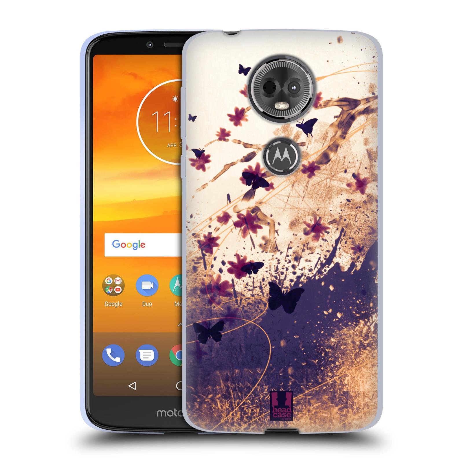 Silikonové pouzdro na mobil Motorola Moto E5 Plus - Head Case - MOTÝLCI