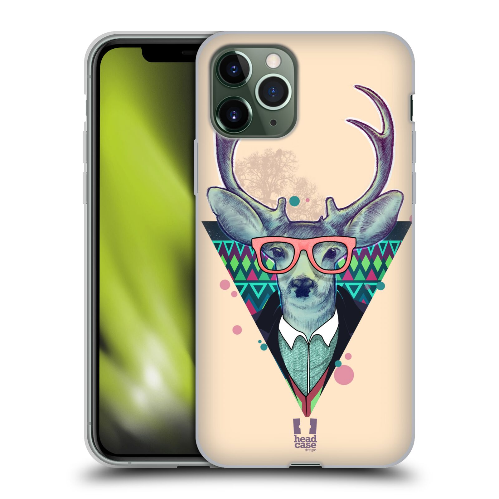 gucci iphone case 8 plus - Silikonové pouzdro na mobil Apple iPhone 11 Pro - Head Case - HIPSTR JELEN
