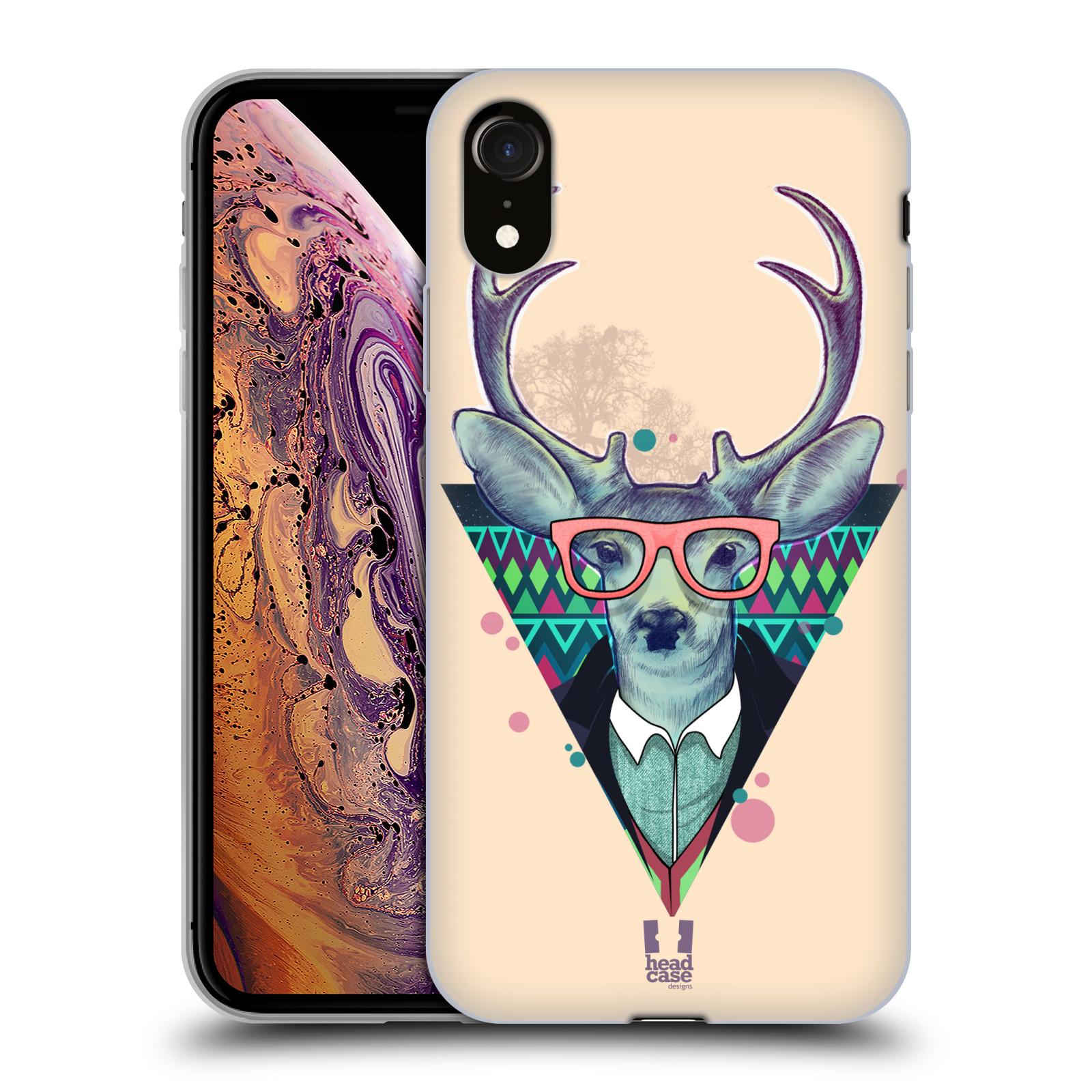 Silikonové pouzdro na mobil Apple iPhone XR - Head Case - HIPSTR JELEN