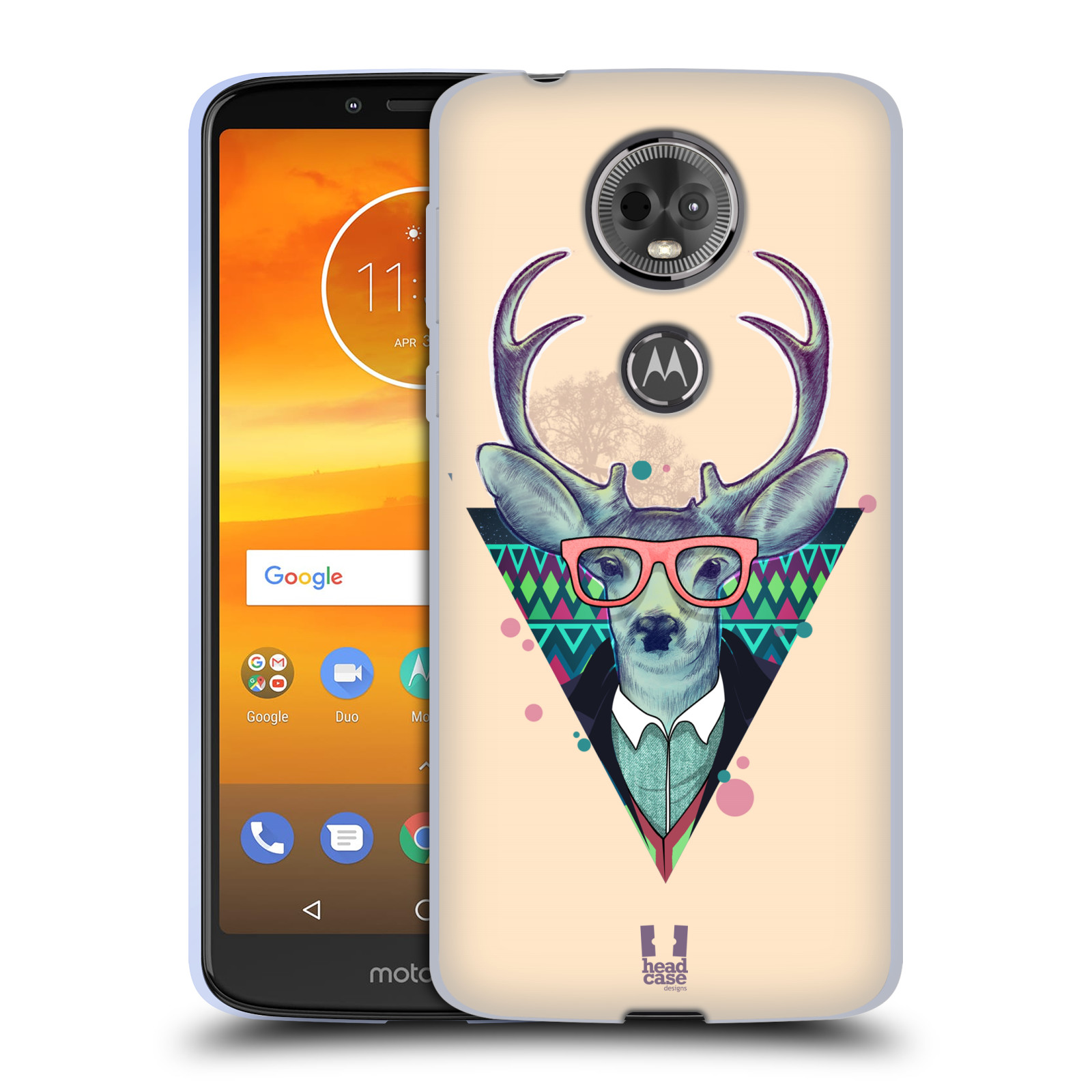 Silikonové pouzdro na mobil Motorola Moto E5 Plus - Head Case - HIPSTR JELEN