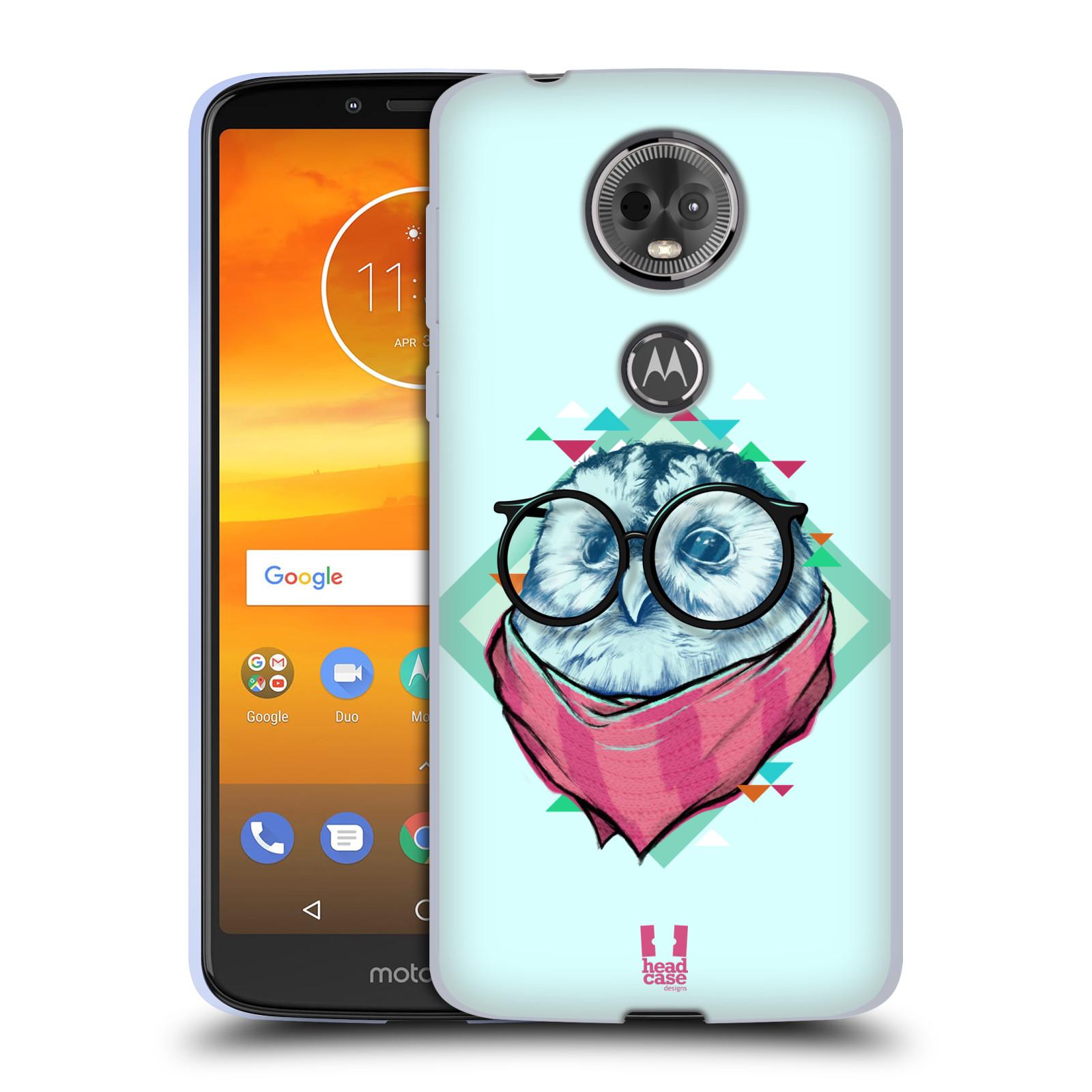 Silikonové pouzdro na mobil Motorola Moto E5 Plus - Head Case - HIPSTR SOVA
