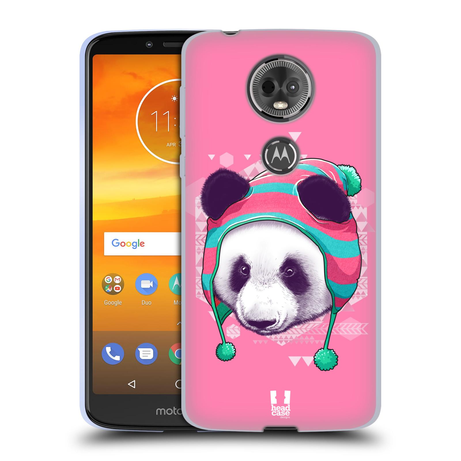 Silikonové pouzdro na mobil Motorola Moto E5 Plus - Head Case - HIPSTR PANDA