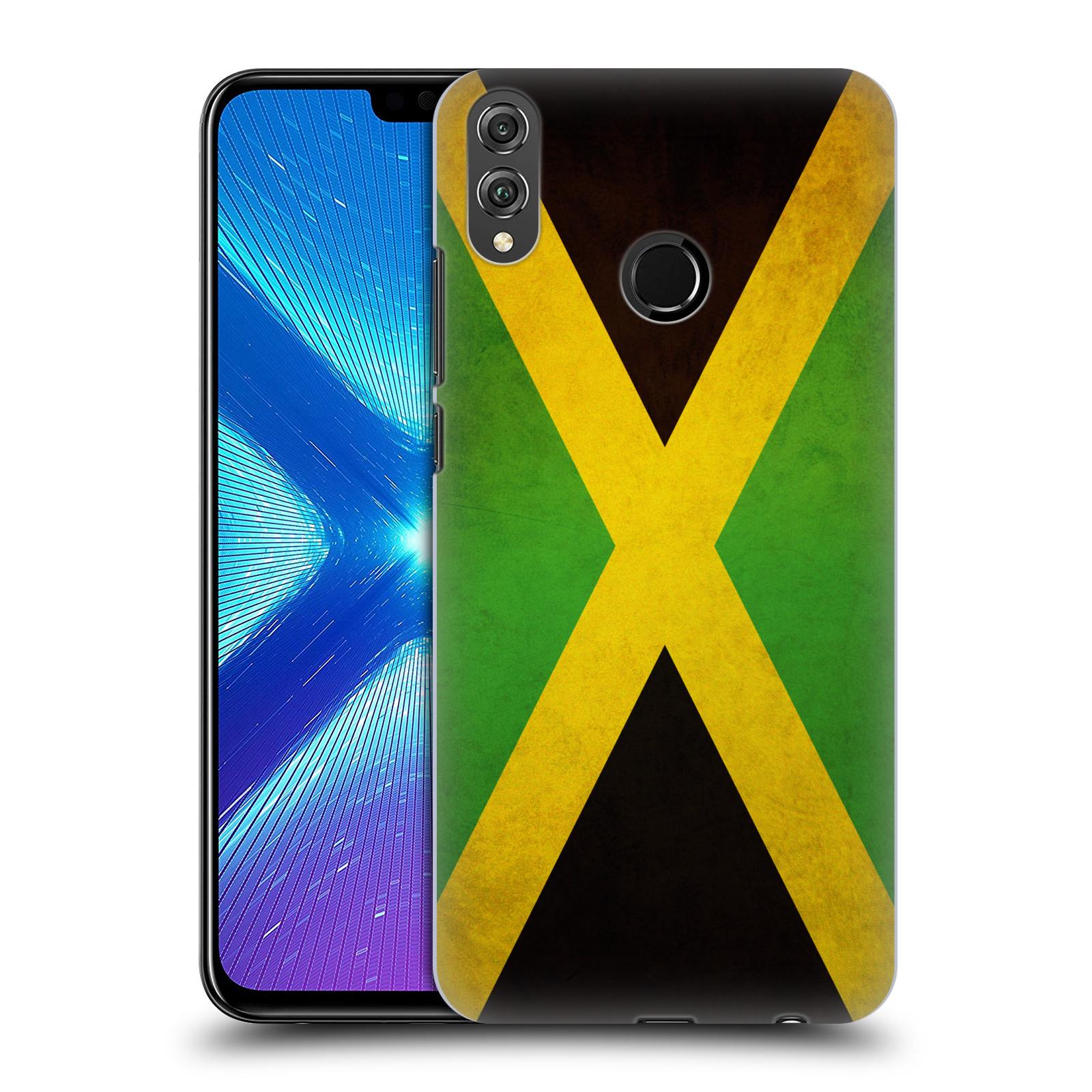 Plastové pouzdro na mobil Honor 8X - Head Case - VLAJKA JAMAJKA