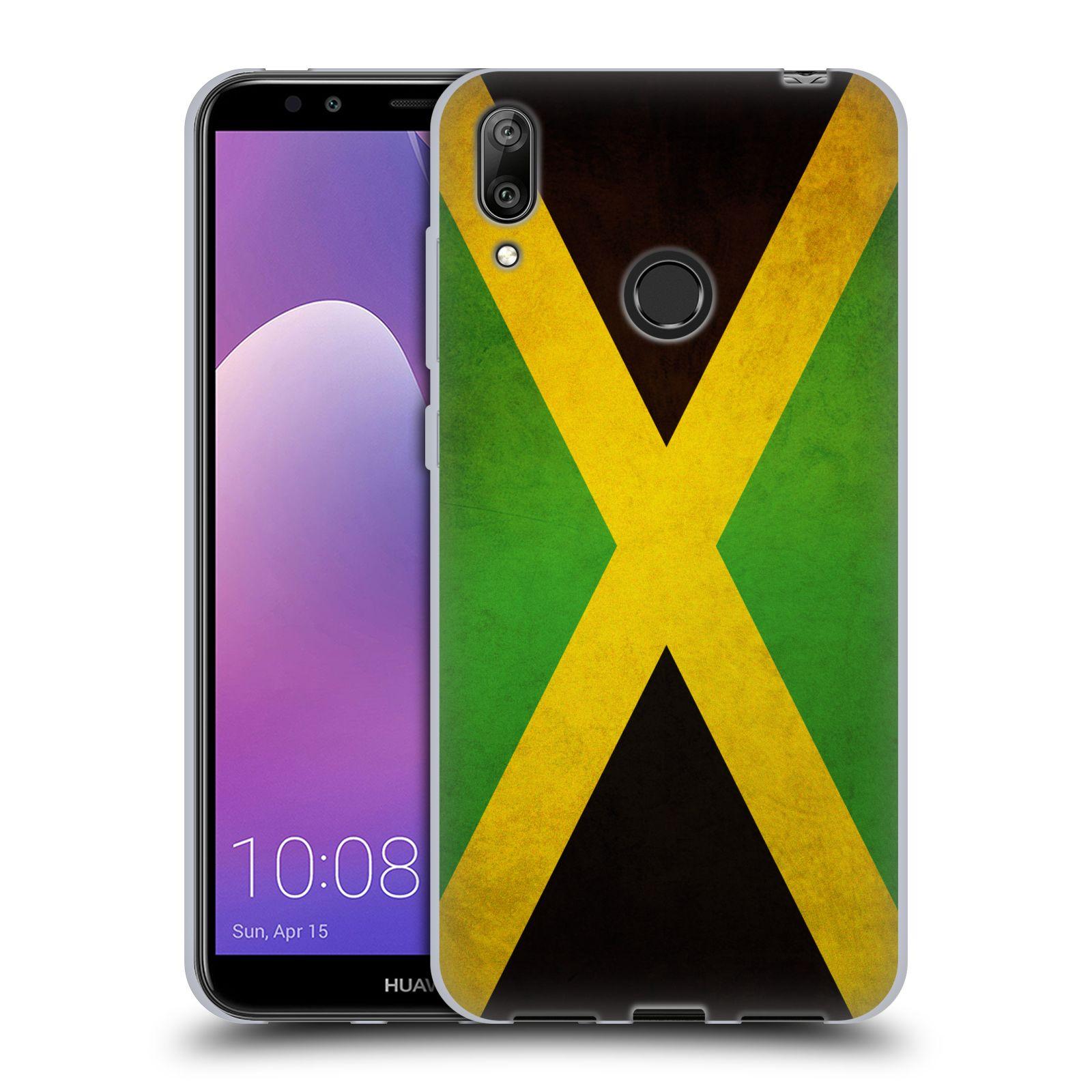 Silikonové pouzdro na mobil Huawei Y7 (2019) - Head Case - VLAJKA JAMAJKA