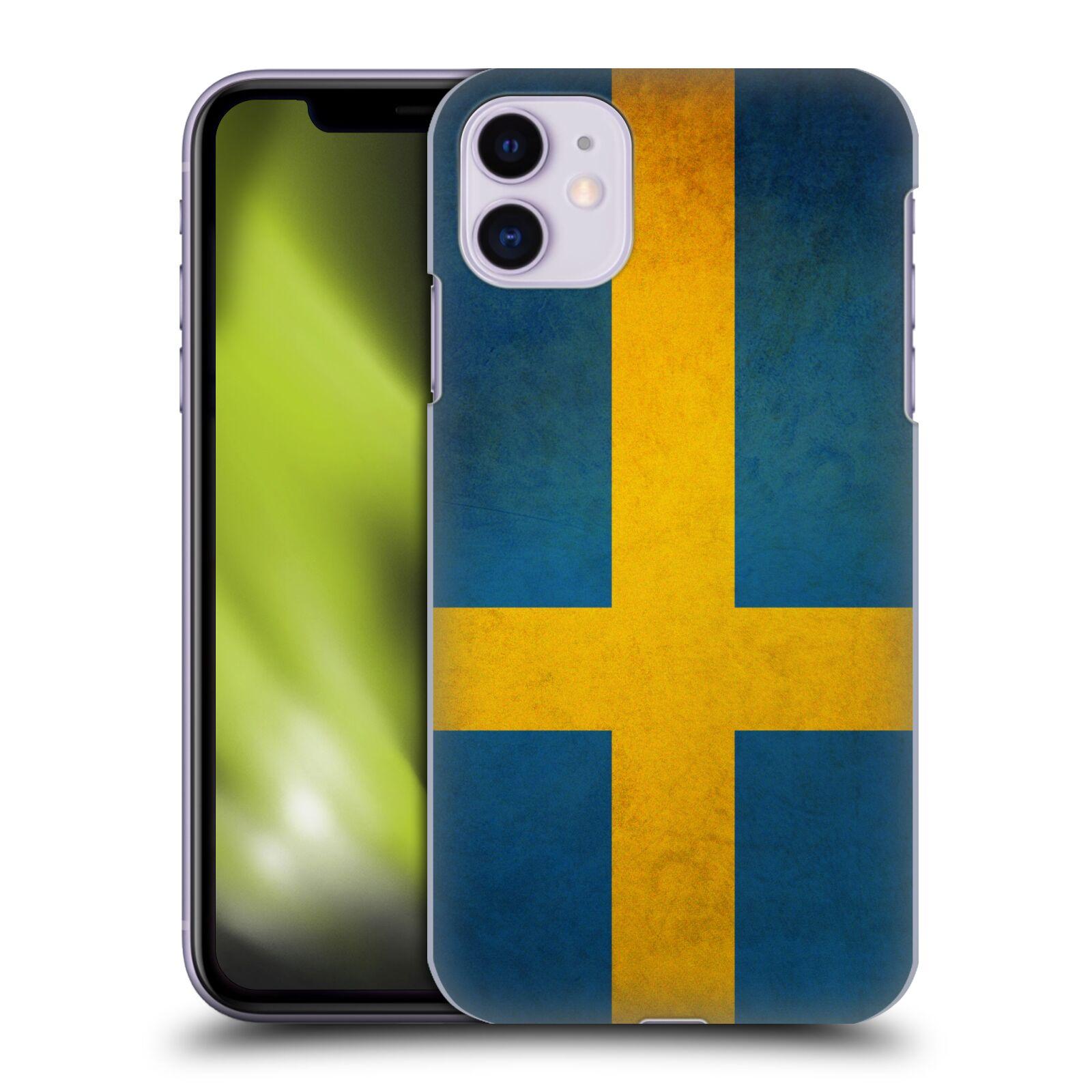 Plastové pouzdro na mobil Apple iPhone 11 - Head Case - VLAJKA ŠVÉDSKO