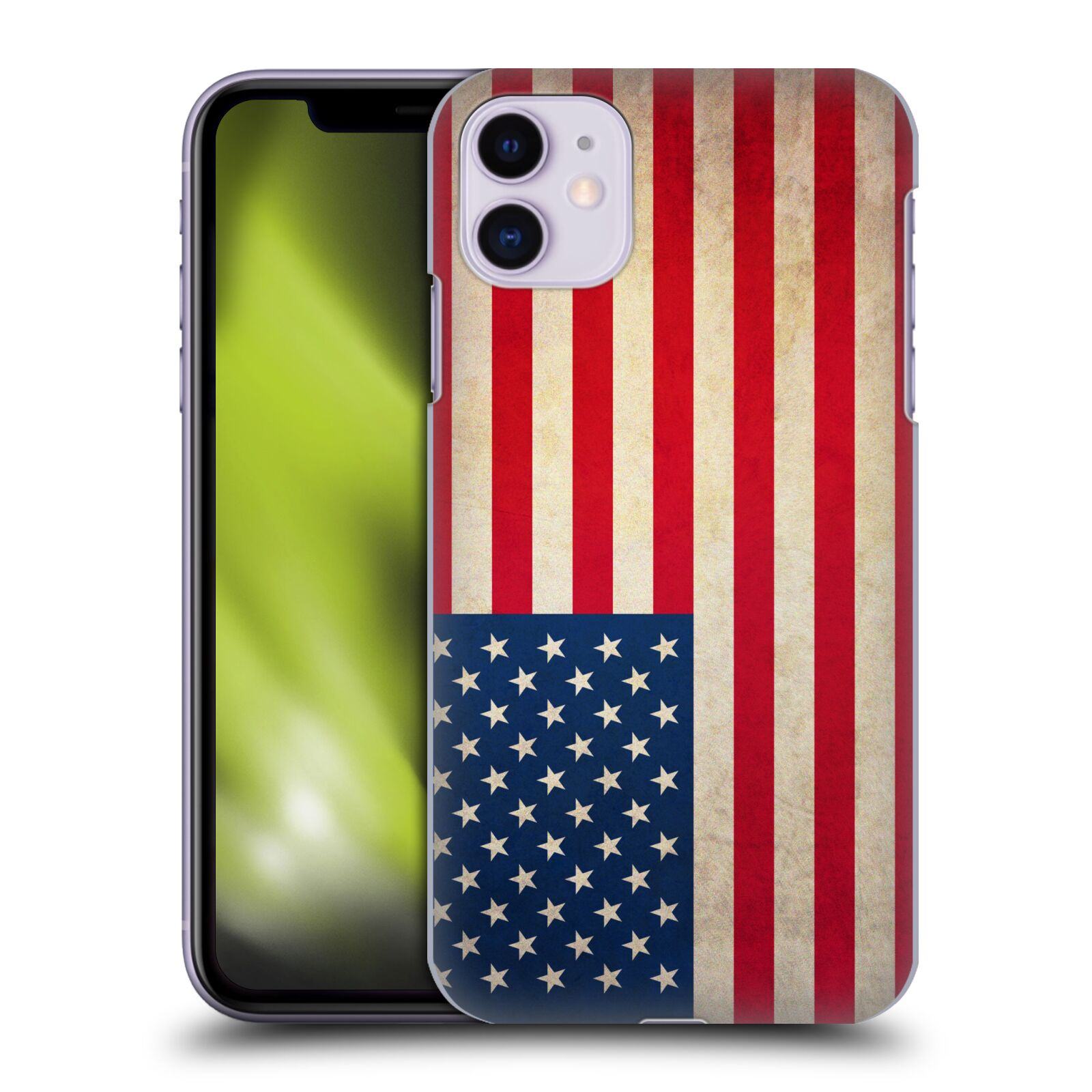 Plastové pouzdro na mobil Apple iPhone 11 - Head Case - VLAJKA USA