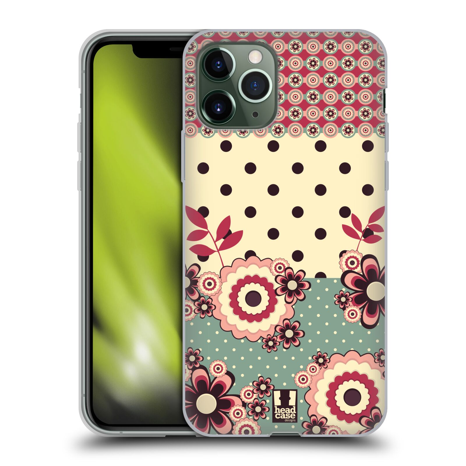 gucci iphone x s max case | Silikonové pouzdro na mobil Apple iPhone 11 Pro - Head Case - KVÍTKA PINK CREAM