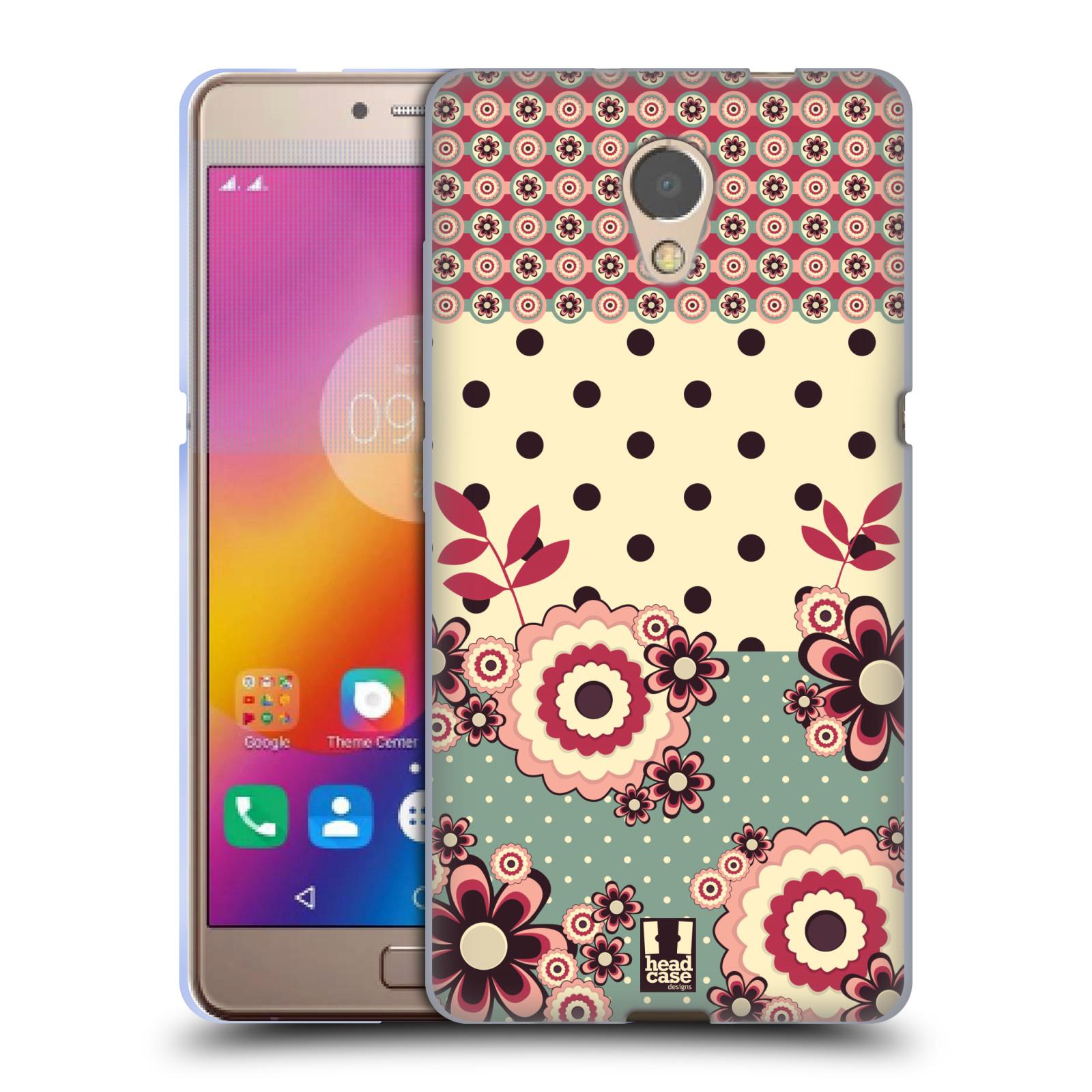 Silikonové pouzdro na mobil Lenovo P2 - Head Case - KVÍTKA PINK CREAM