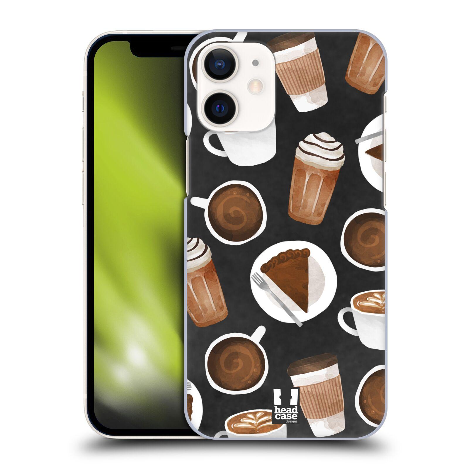 Plastové pouzdro na mobil Apple iPhone 12 Mini - Head Case - Kafíčka a dortík