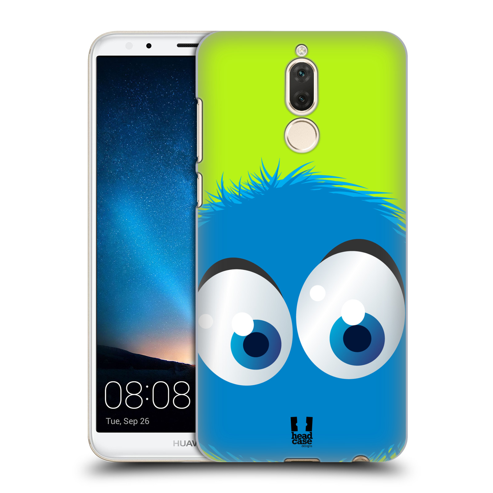 Plastové pouzdro na mobil Huawei Mate 10 Lite - Head Case - FUZÍK MODRÝ