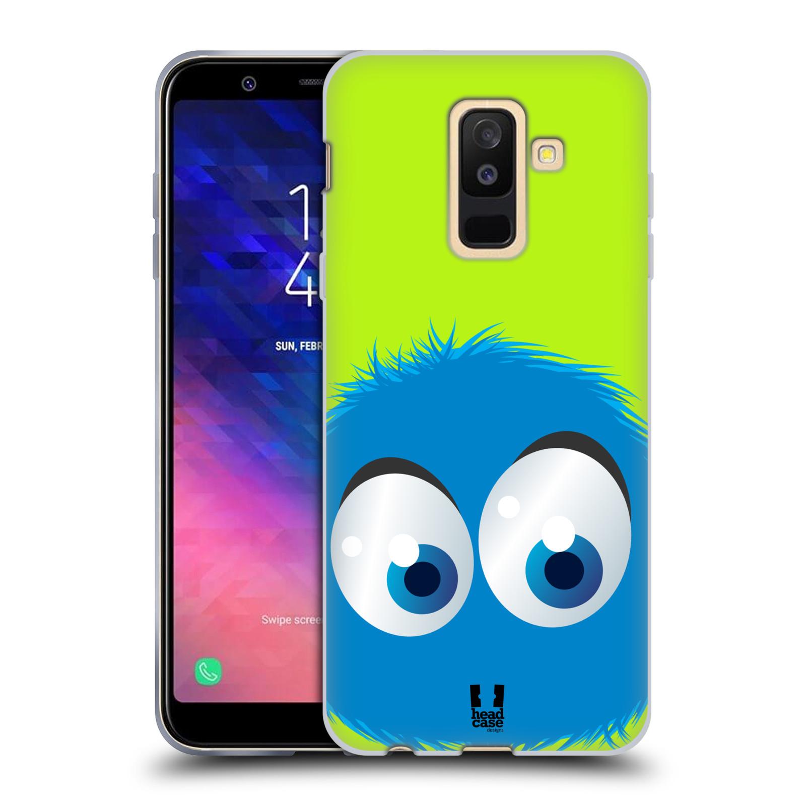Silikonové pouzdro na mobil Samsung Galaxy A6 Plus (2018) - Head Case - FUZÍK MODRÝ (Silikonový kryt či obal na mobilní telefon Samsung Galaxy A6+ 2018 s motivem FUZÍK MODRÝ)
