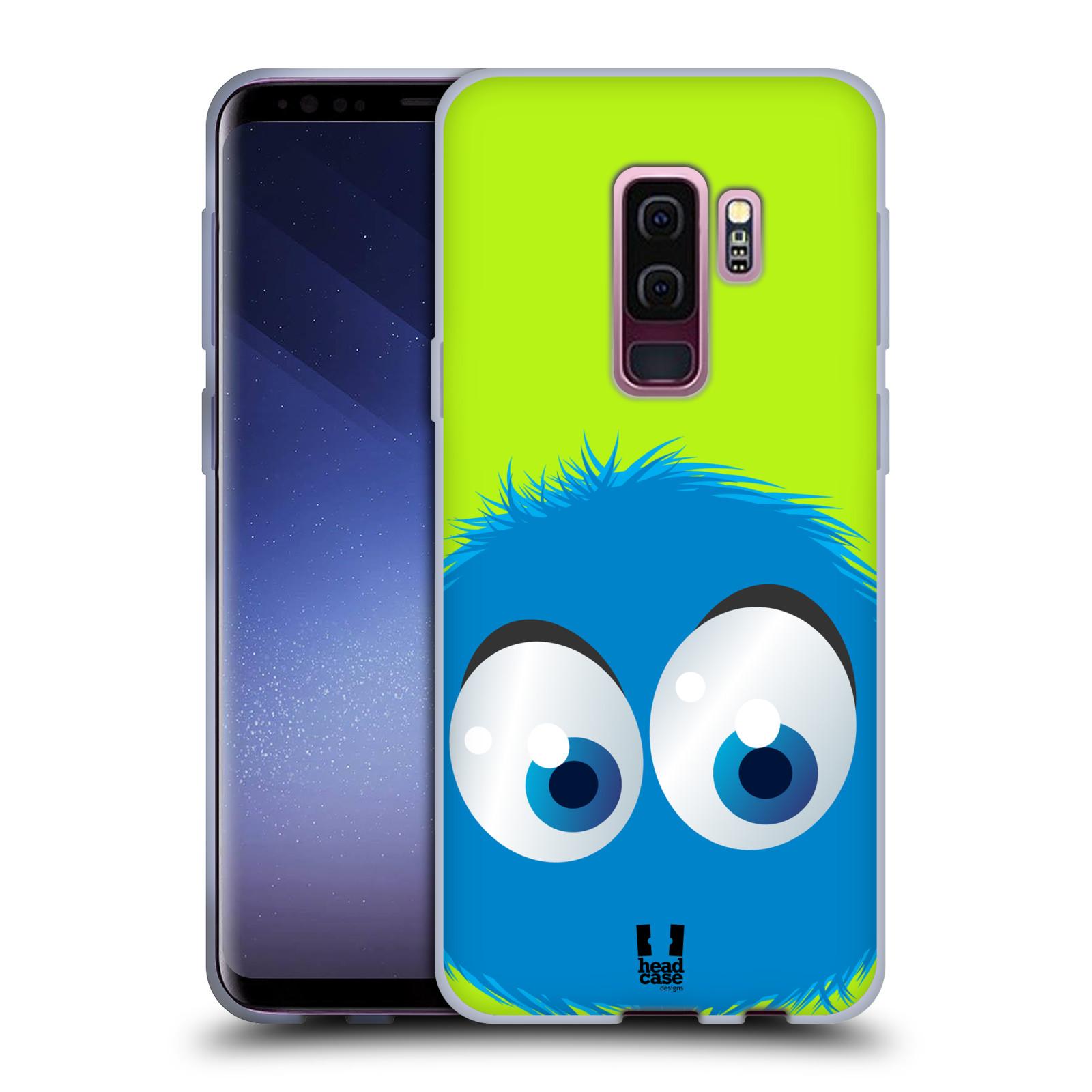 Silikonové pouzdro na mobil Samsung Galaxy S9 Plus - Head Case - FUZÍK MODRÝ (Silikonový kryt či obal na mobilní telefon Samsung Galaxy S9+ (Plus) SM-G965F/DS s motivem FUZÍK MODRÝ)