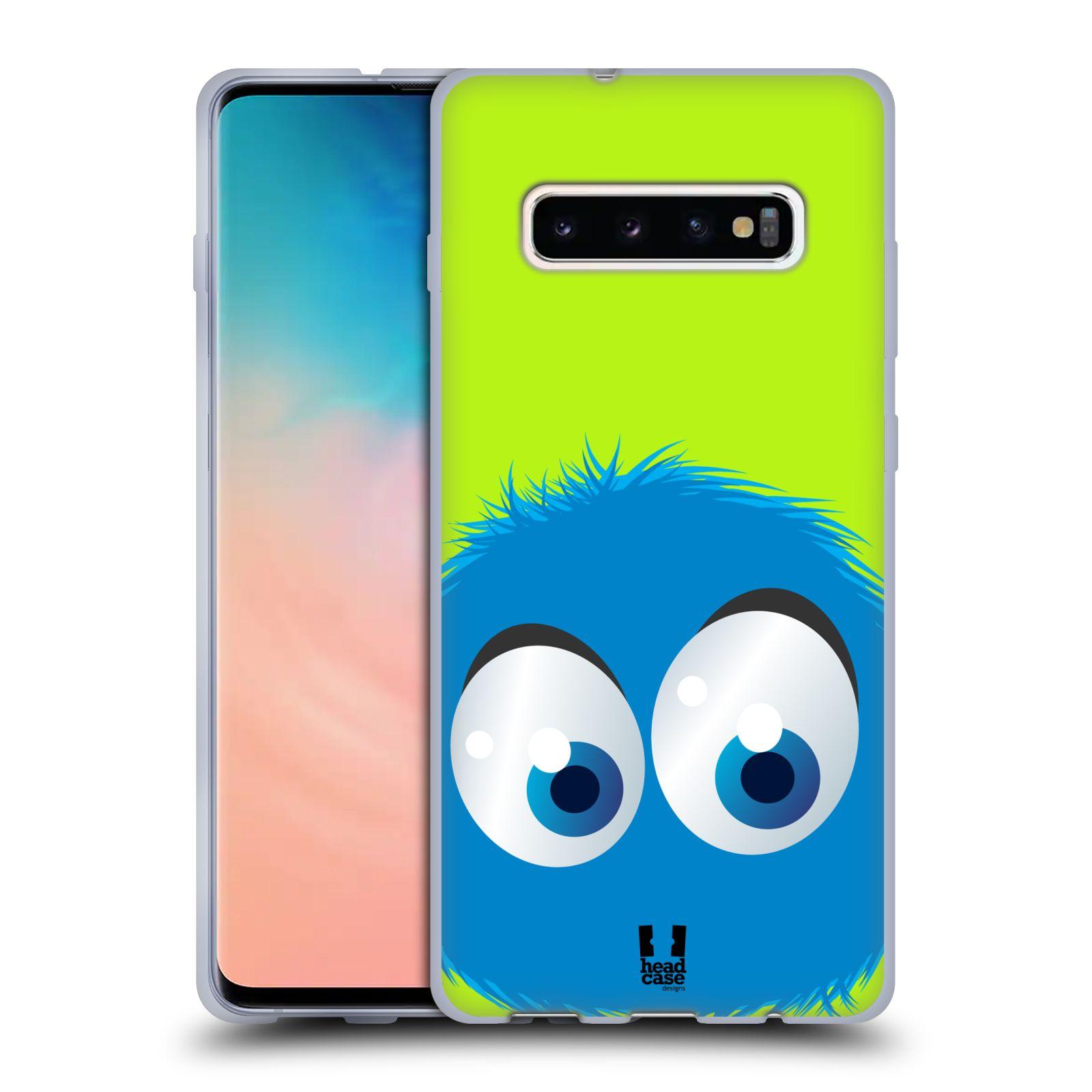 Silikonové pouzdro na mobil Samsung Galaxy S10 Plus - Head Case - FUZÍK MODRÝ (Silikonový kryt, obal, pouzdro na mobilní telefon Samsung Galaxy S10+ SM-G975 s motivem FUZÍK MODRÝ)