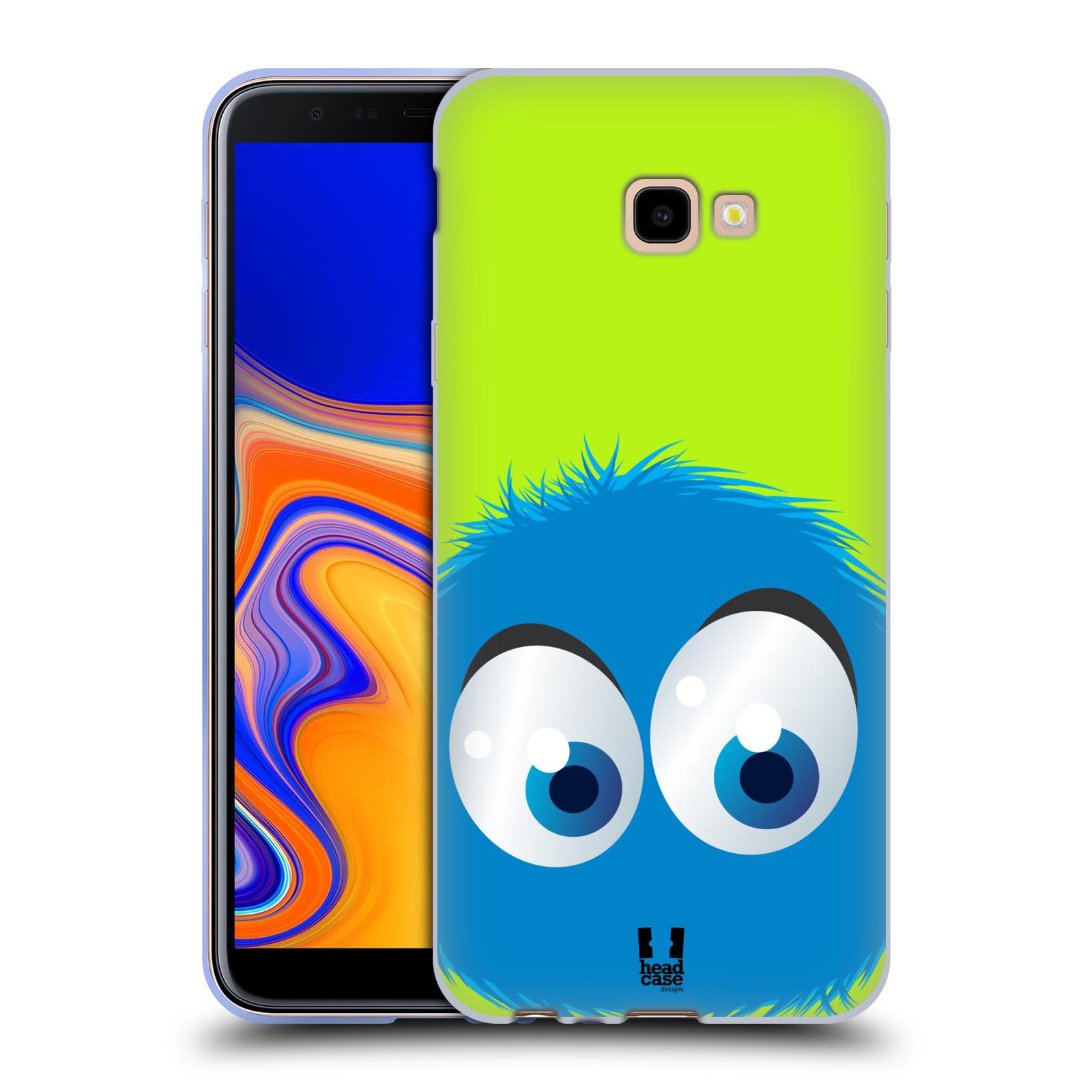 Silikonové pouzdro na mobil Samsung Galaxy J4 Plus - Head Case - FUZÍK MODRÝ (Silikonový kryt, obal, pouzdro na mobilní telefon Samsung Galaxy J4+ s motivem FUZÍK MODRÝ)