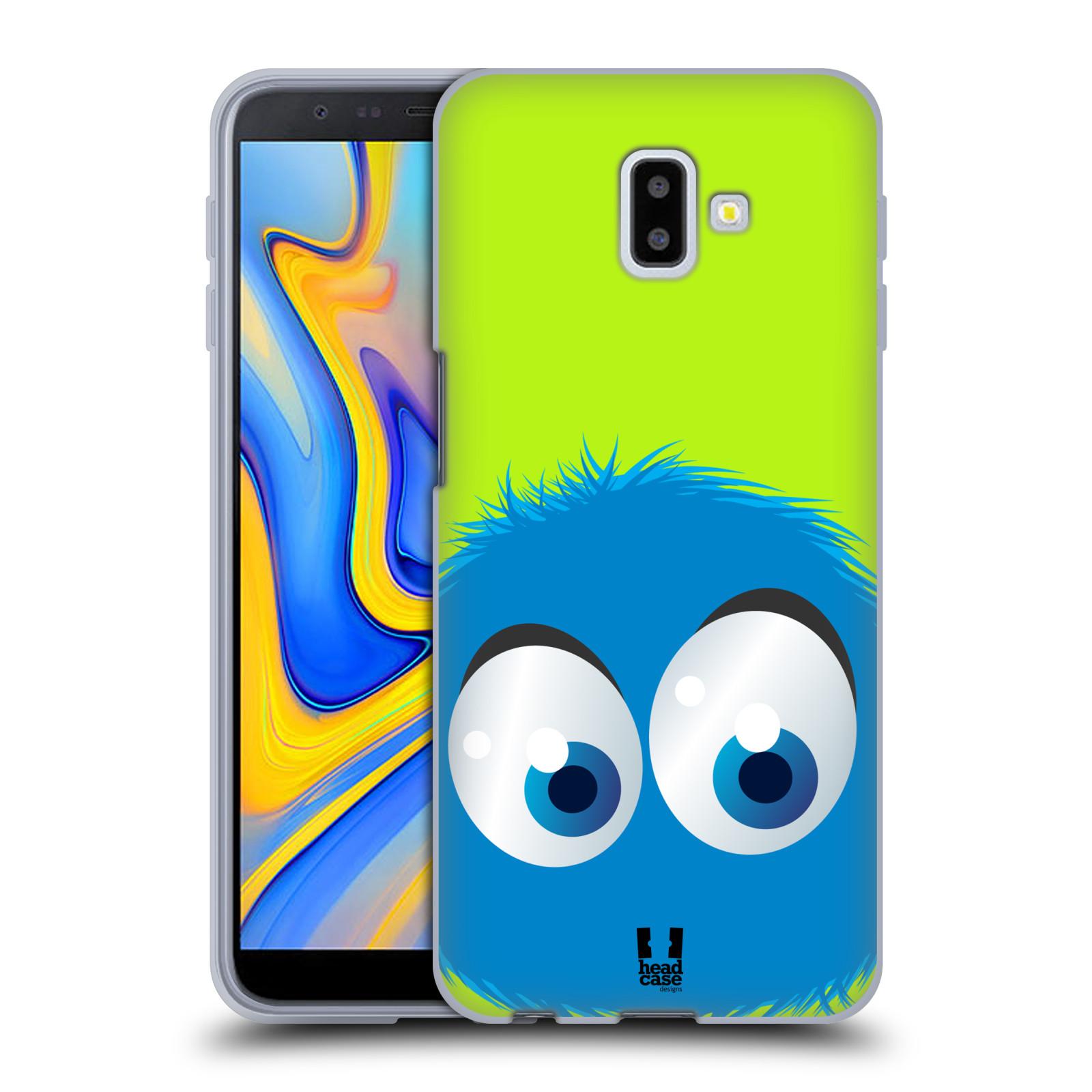 Silikonové pouzdro na mobil Samsung Galaxy J6 Plus - Head Case - FUZÍK MODRÝ (Silikonový kryt, obal, pouzdro na mobilní telefon Samsung Galaxy J6+ J610F s motivem FUZÍK MODRÝ)