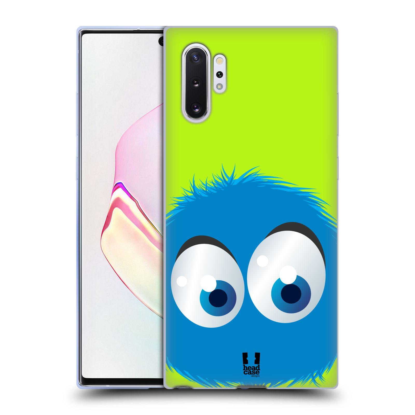 Silikonové pouzdro na mobil Samsung Galaxy Note 10 Plus - Head Case - FUZÍK MODRÝ (Silikonový kryt, obal, pouzdro na mobilní telefon Samsung Galaxy Note10+ N975F s motivem FUZÍK MODRÝ)