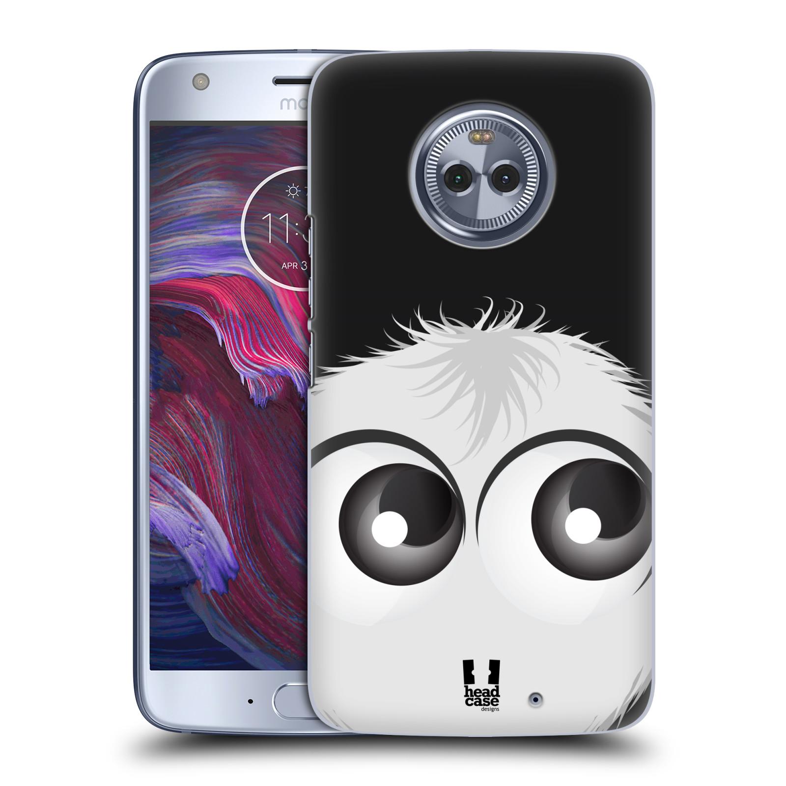 Plastové pouzdro na mobil Lenovo Moto X4 - Head Case - FUZÍK BÍLÝ (Plastový kryt či obal na mobilní telefon Lenovo Moto X4 / Motorola Moto X4 s motivem FUZÍK BÍLÝ)