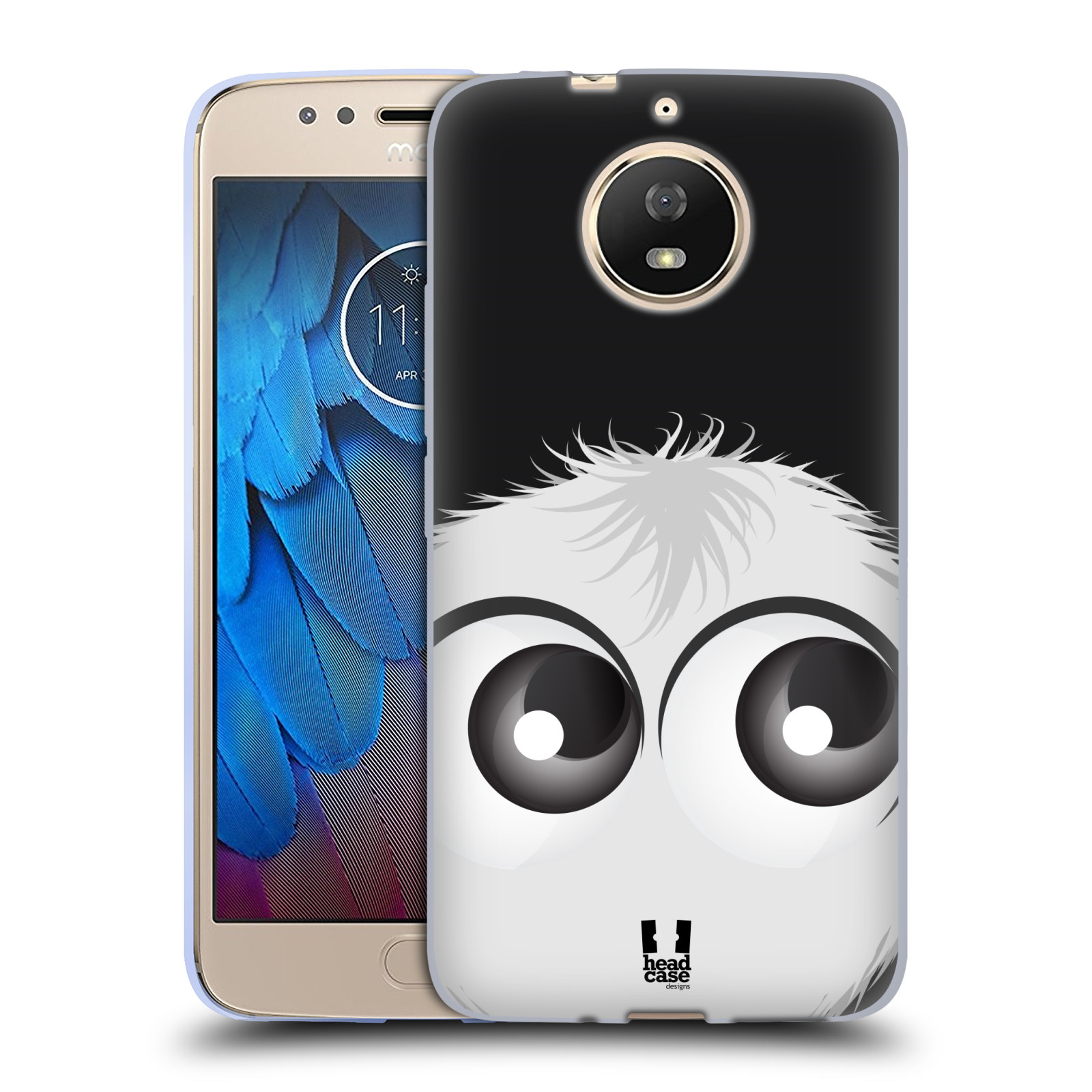 Silikonové pouzdro na mobil Lenovo Moto G5s - Head Case - FUZÍK BÍLÝ (Silikonový kryt či obal na mobilní telefon (Motorola) Lenovo Moto G5s s motivem FUZÍK BÍLÝ)