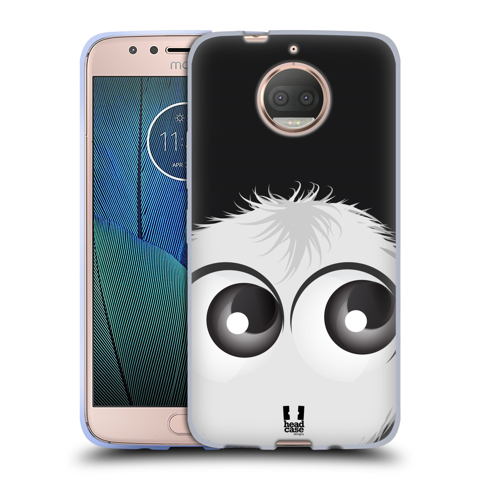 Silikonové pouzdro na mobil Lenovo Moto G5s Plus - Head Case - FUZÍK BÍLÝ (Silikonový kryt či obal na mobilní telefon (Motorola) Lenovo Moto G5s Plus s motivem FUZÍK BÍLÝ)