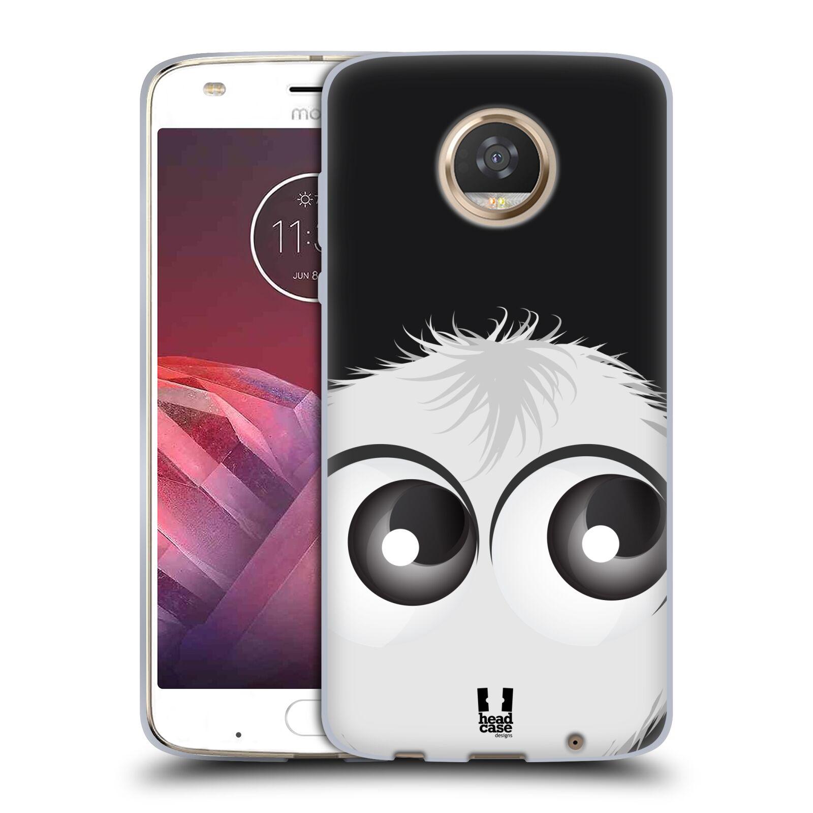 Silikonové pouzdro na mobil Lenovo Moto Z2 Play - Head Case - FUZÍK BÍLÝ (Silikonový kryt či obal na mobilní telefon Lenovo Moto Z2 Play s motivem FUZÍK BÍLÝ)