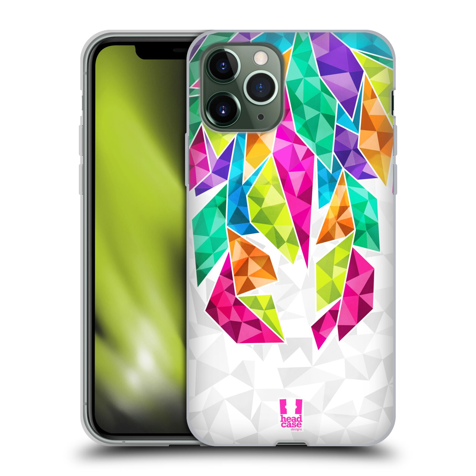 iphone xs kryt apple , Silikonové pouzdro na mobil Apple iPhone 11 Pro - Head Case - PÍRKA TICKLE