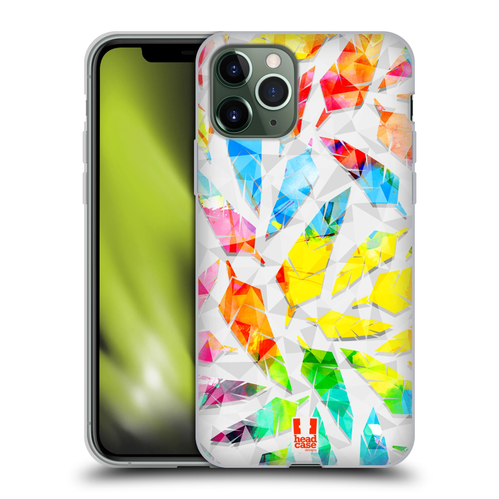 kryt na iphone xr karl lagerfeld | Silikonové pouzdro na mobil Apple iPhone 11 Pro - Head Case - PÍRKA WATERCOLOUR