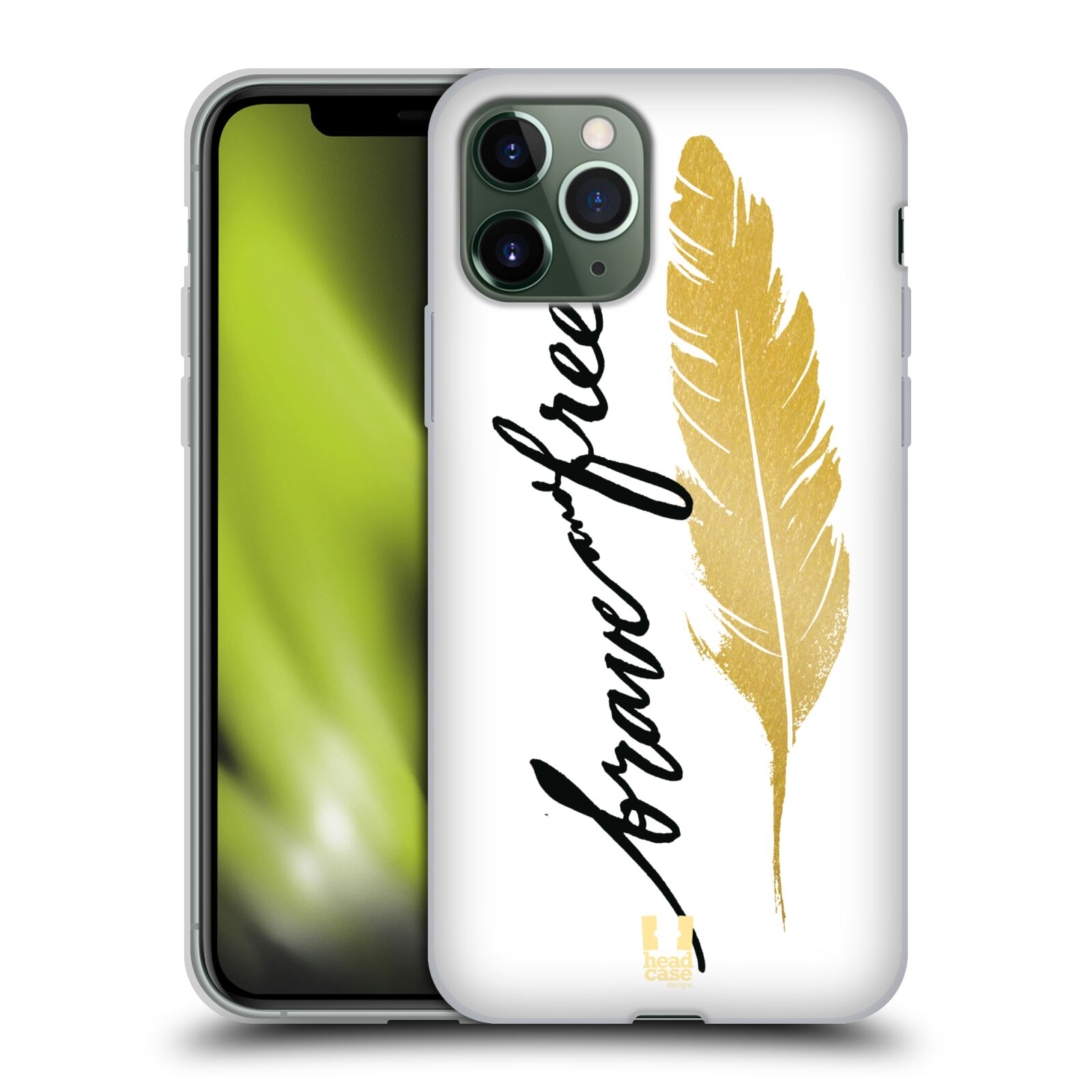 gucci phone case iphone x amazon - Silikonové pouzdro na mobil Apple iPhone 11 Pro - Head Case - PÍRKO ZLATÉ FREE