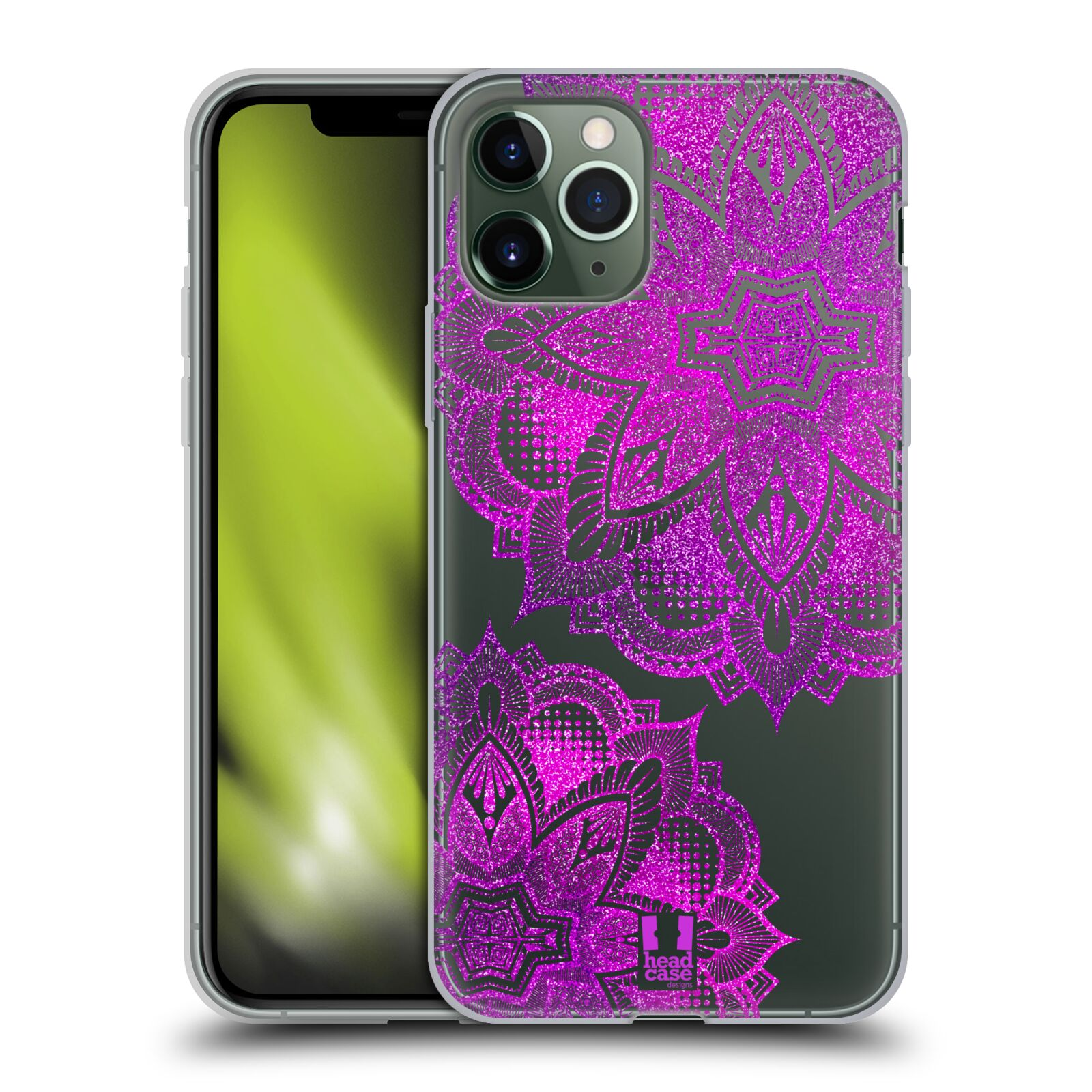 gucci phone case iphone 7 amazon , Silikonové pouzdro na mobil Apple iPhone 11 Pro - Head Case - Fialová mandala