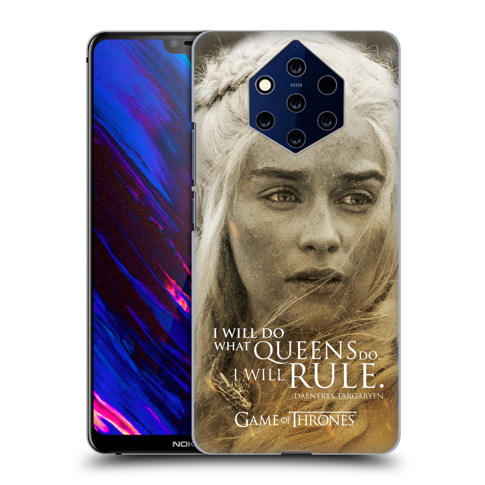 Plastové pouzdro na mobil Nokia 9 PureView - Head Case - Hra o trůny - Daenerys Targaryen