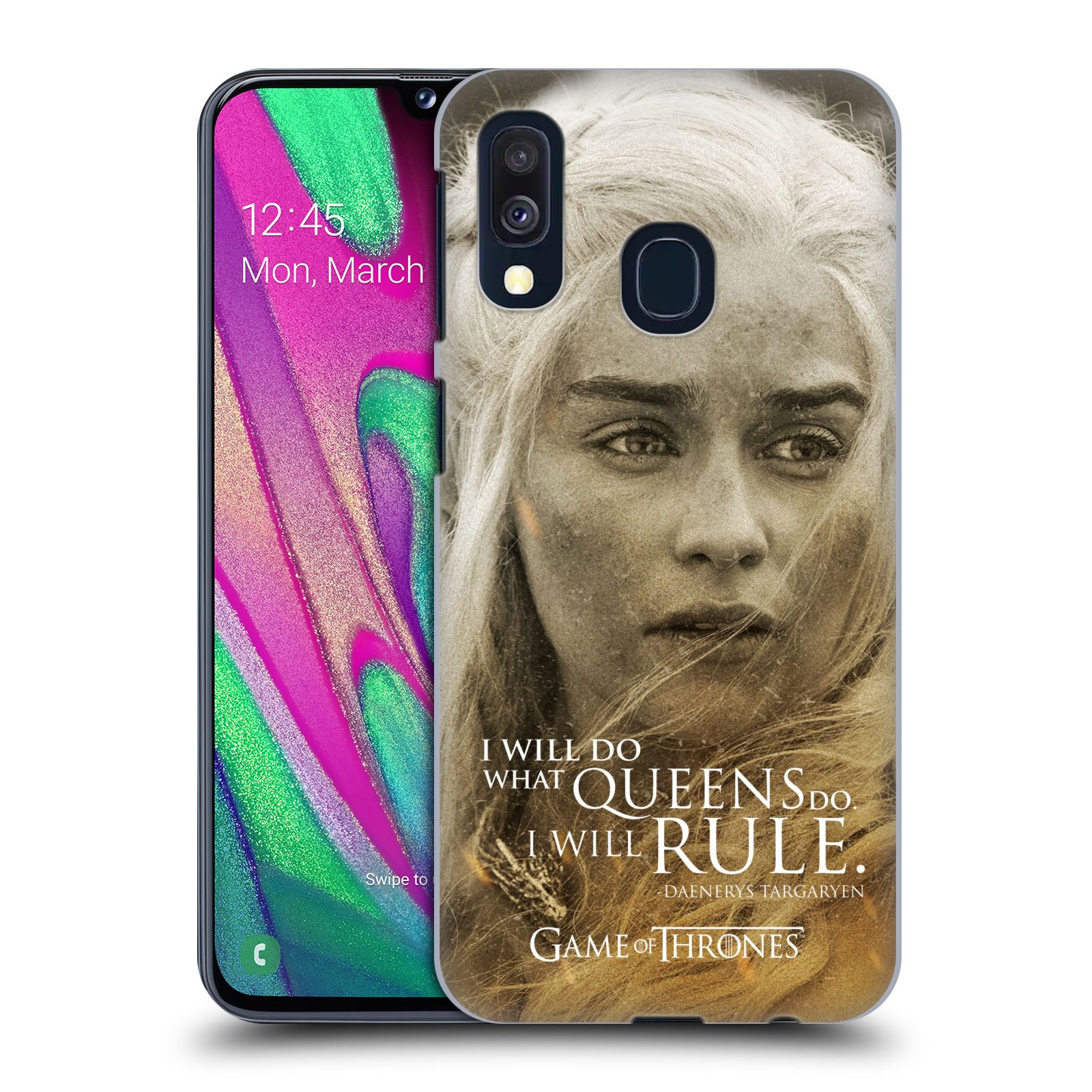 Plastové pouzdro na mobil Samsung Galaxy A40 - Head Case - Hra o trůny - Daenerys Targaryen