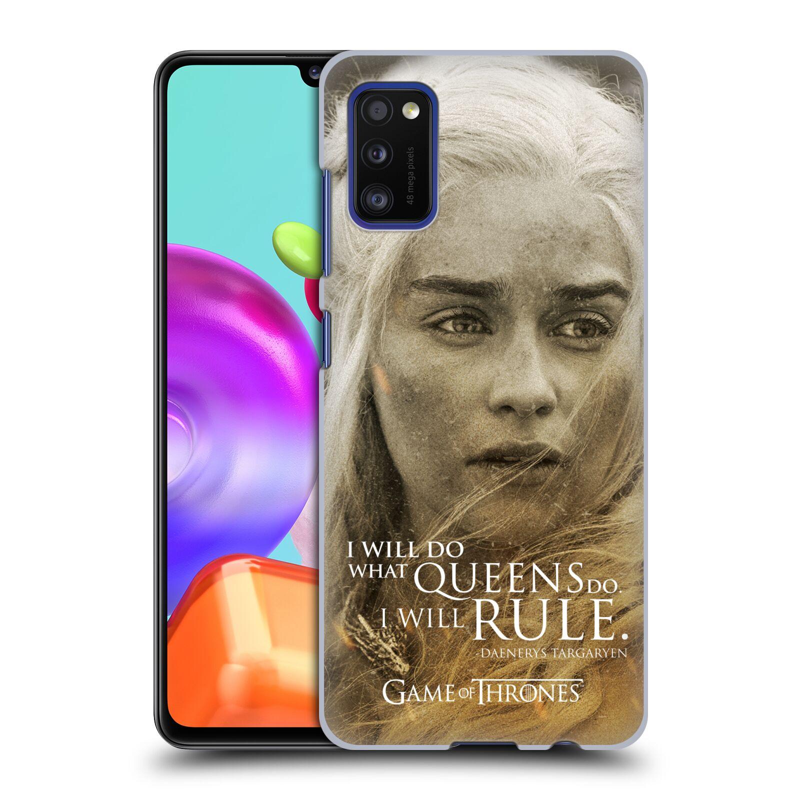 Plastové pouzdro na mobil Samsung Galaxy A41 - Head Case - Hra o trůny - Daenerys Targaryen