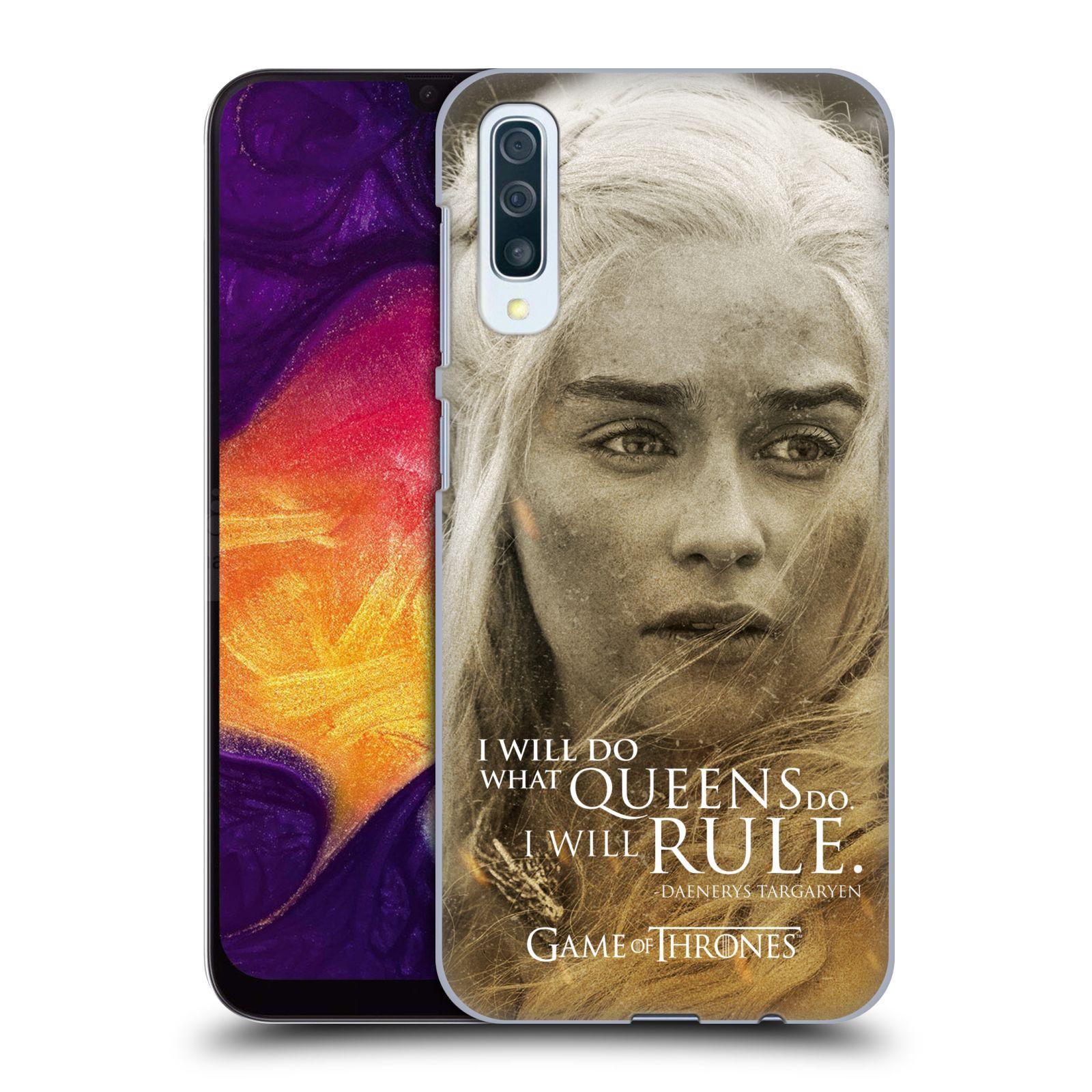 Plastové pouzdro na mobil Samsung Galaxy A50 / A30s - Head Case - Hra o trůny - Daenerys Targaryen