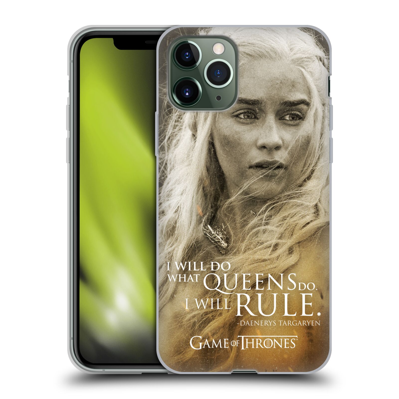 gucci iphone x case usa - Silikonové pouzdro na mobil Apple iPhone 11 Pro - Head Case - Hra o trůny - Daenerys Targaryen