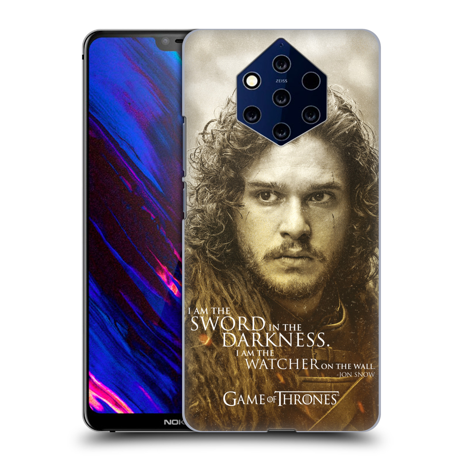 Plastové pouzdro na mobil Nokia 9 PureView - Head Case - Hra o trůny - Jon Snow