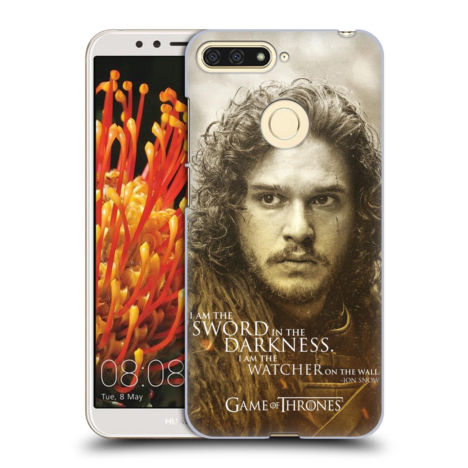 Plastové pouzdro na mobil Honor 7A / Y6 Prime 2018 - Head Case - Hra o trůny - Jon Snow