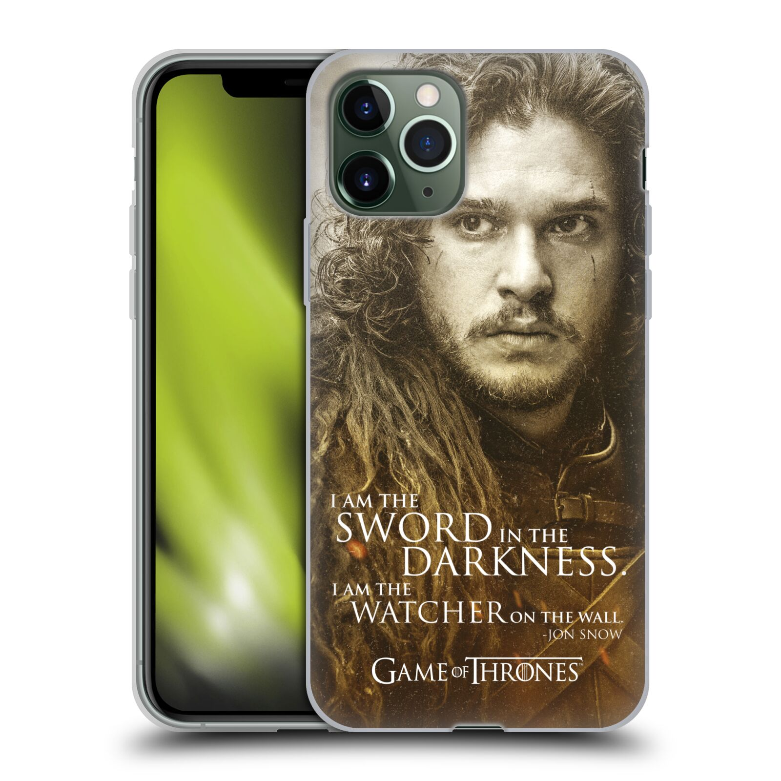 gucci iphone x case malaysia - Silikonové pouzdro na mobil Apple iPhone 11 Pro - Head Case - Hra o trůny - Jon Snow