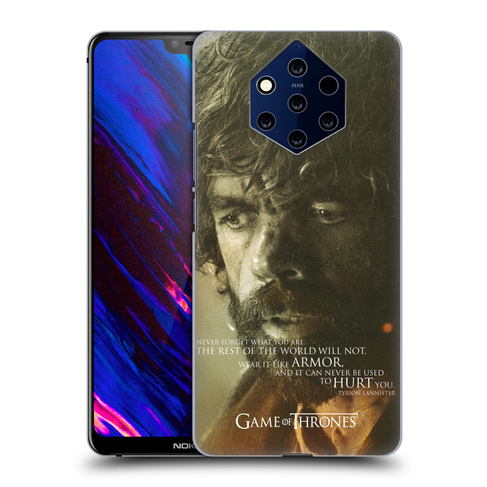 Plastové pouzdro na mobil Nokia 9 PureView - Head Case - Hra o trůny - Tyrion Lannister