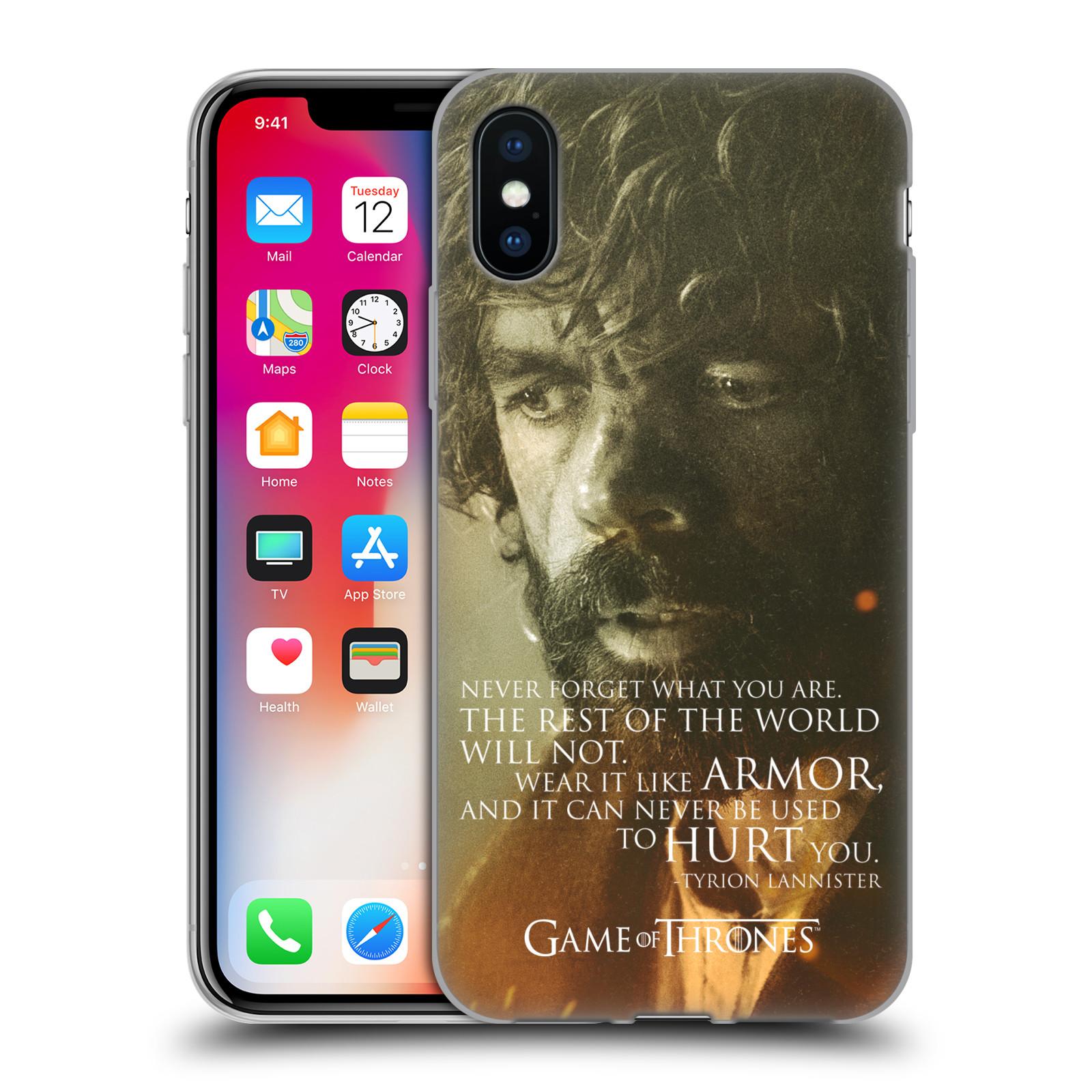 Silikonové pouzdro na mobil Apple iPhone XS - Head Case - Hra o trůny - Tyrion Lannister