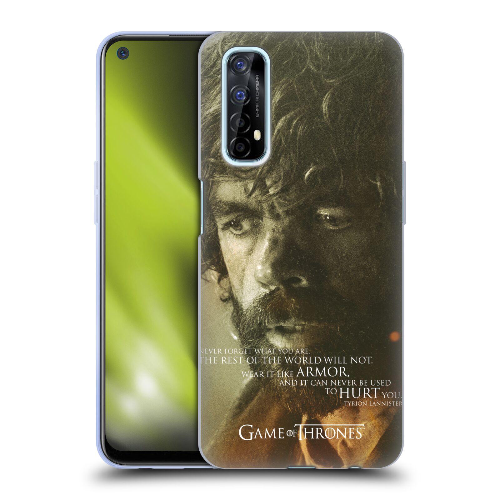 Silikonové pouzdro na mobil Realme 7 - Head Case - Hra o trůny - Tyrion Lannister