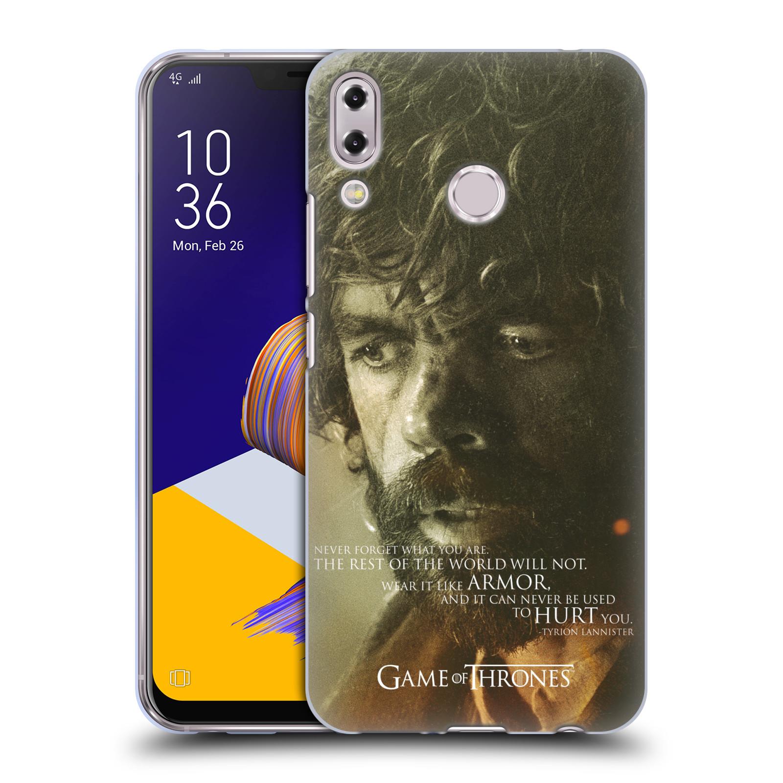Silikonové pouzdro na mobil Asus ZenFone 5 ZE620KL - Head Case - Hra o trůny - Tyrion Lannister
