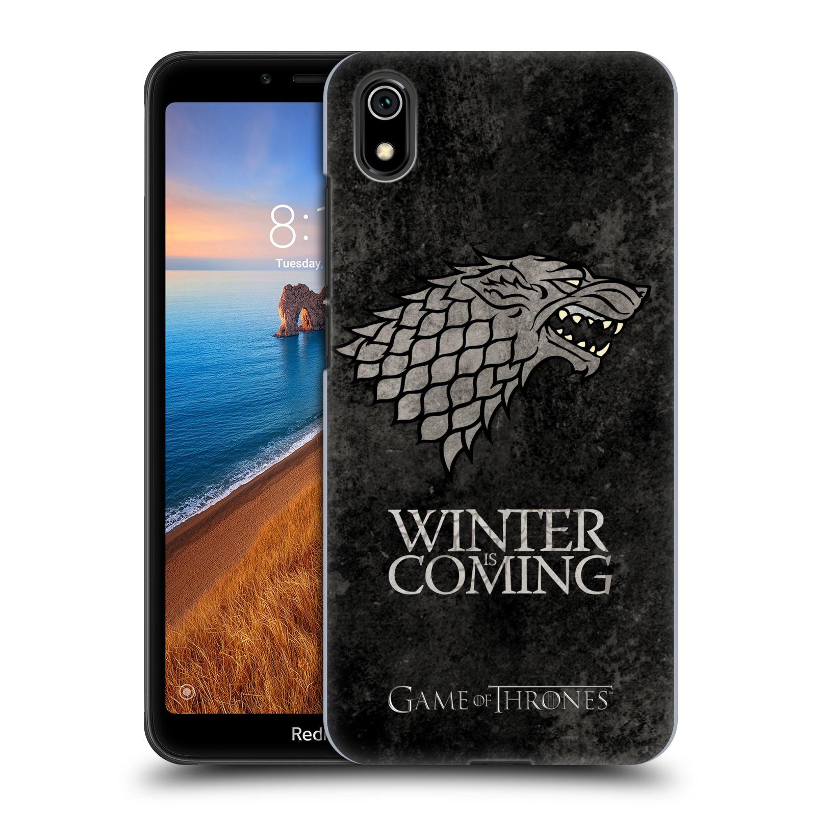 Plastové pouzdro na mobil Xiaomi Redmi 7A - Head Case - Hra o trůny - Stark - Winter is coming