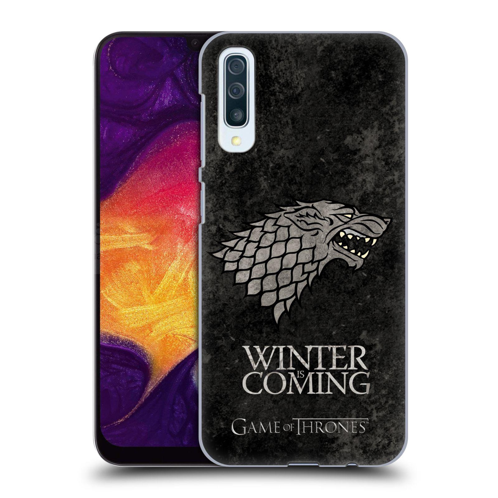 Plastové pouzdro na mobil Samsung Galaxy A50 / A30s - Head Case - Hra o trůny - Stark - Winter is coming