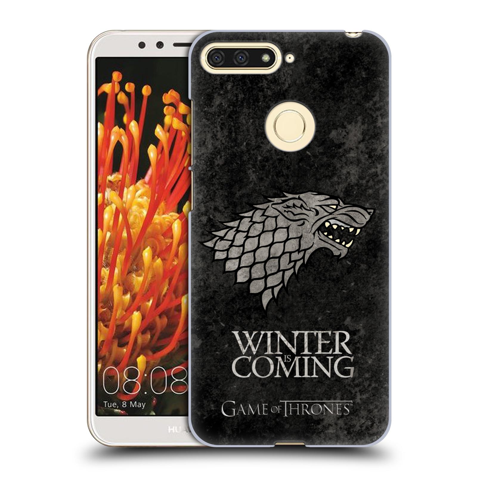 Plastové pouzdro na mobil Huawei Y6 Prime 2018 - Head Case - Hra o trůny - Stark - Winter is coming