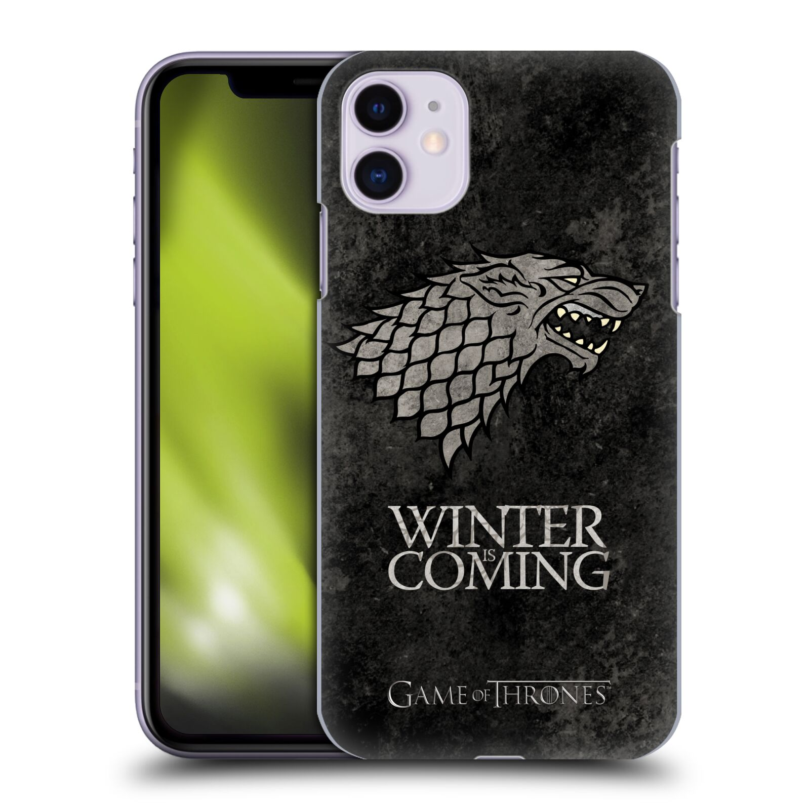 Plastové pouzdro na mobil Apple iPhone 11 - Head Case - Hra o trůny - Stark - Winter is coming
